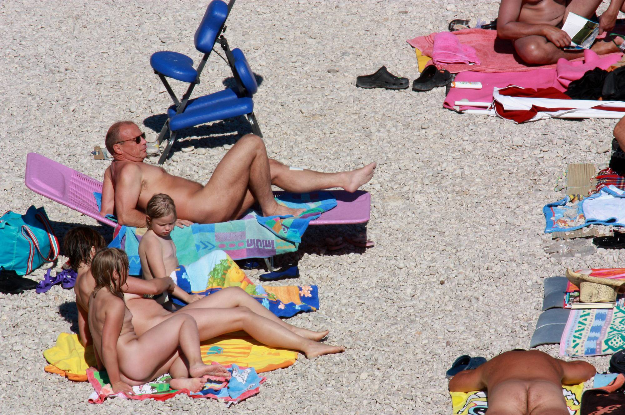 Nudist Sands Towel Wrap - 2
