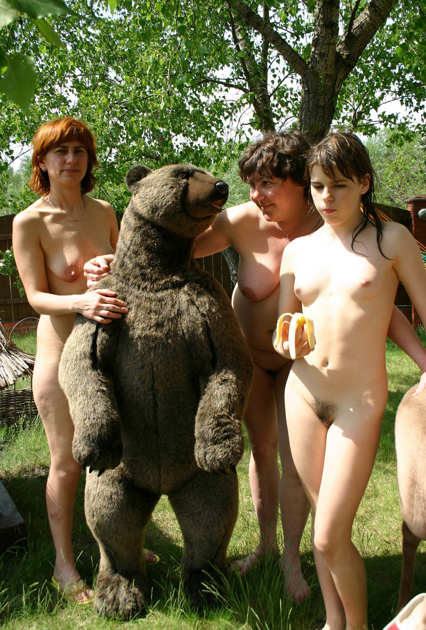 Bringing Out the RU Bear - 2