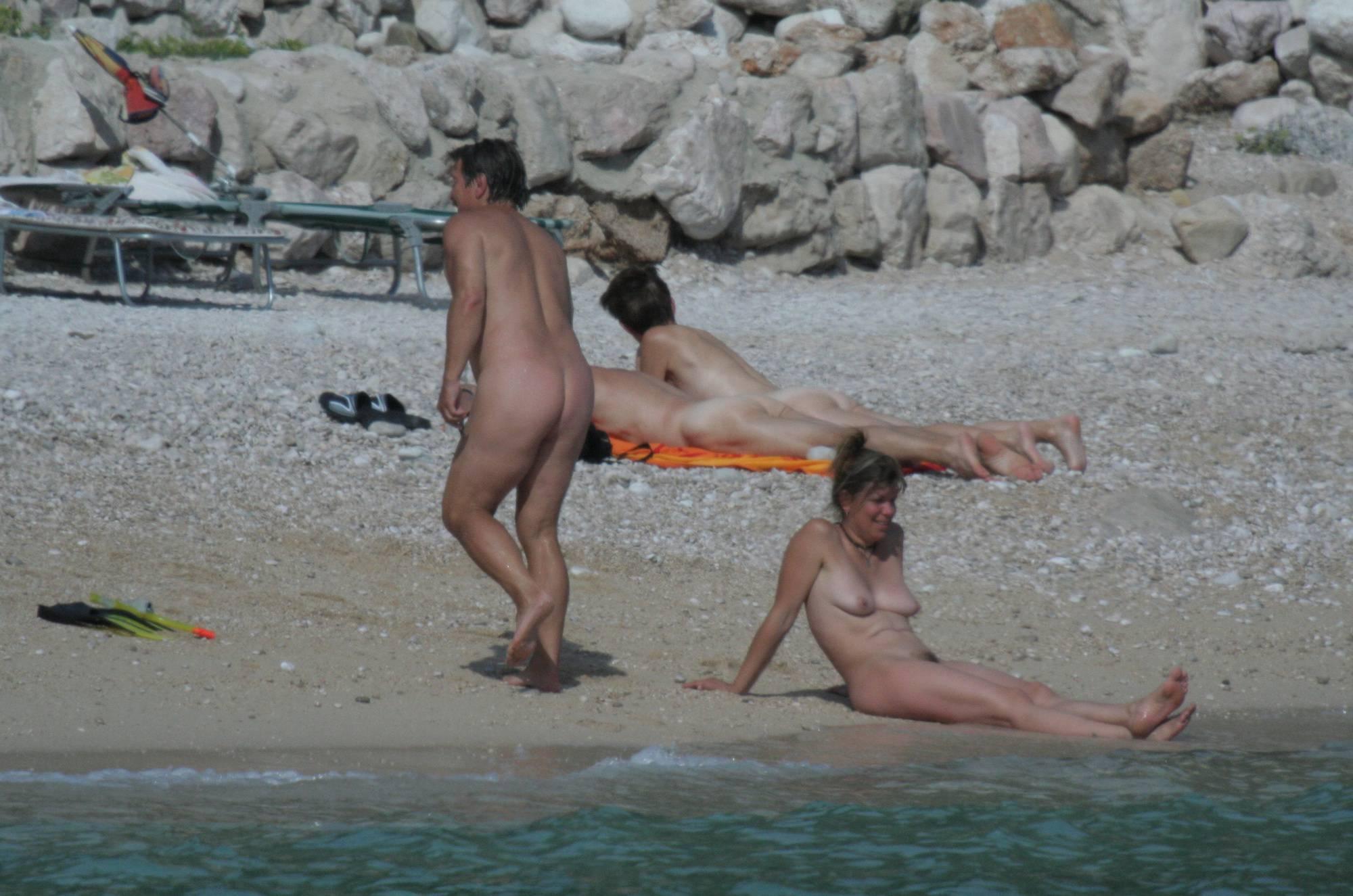 Croatian Baska Beach Visit - 2