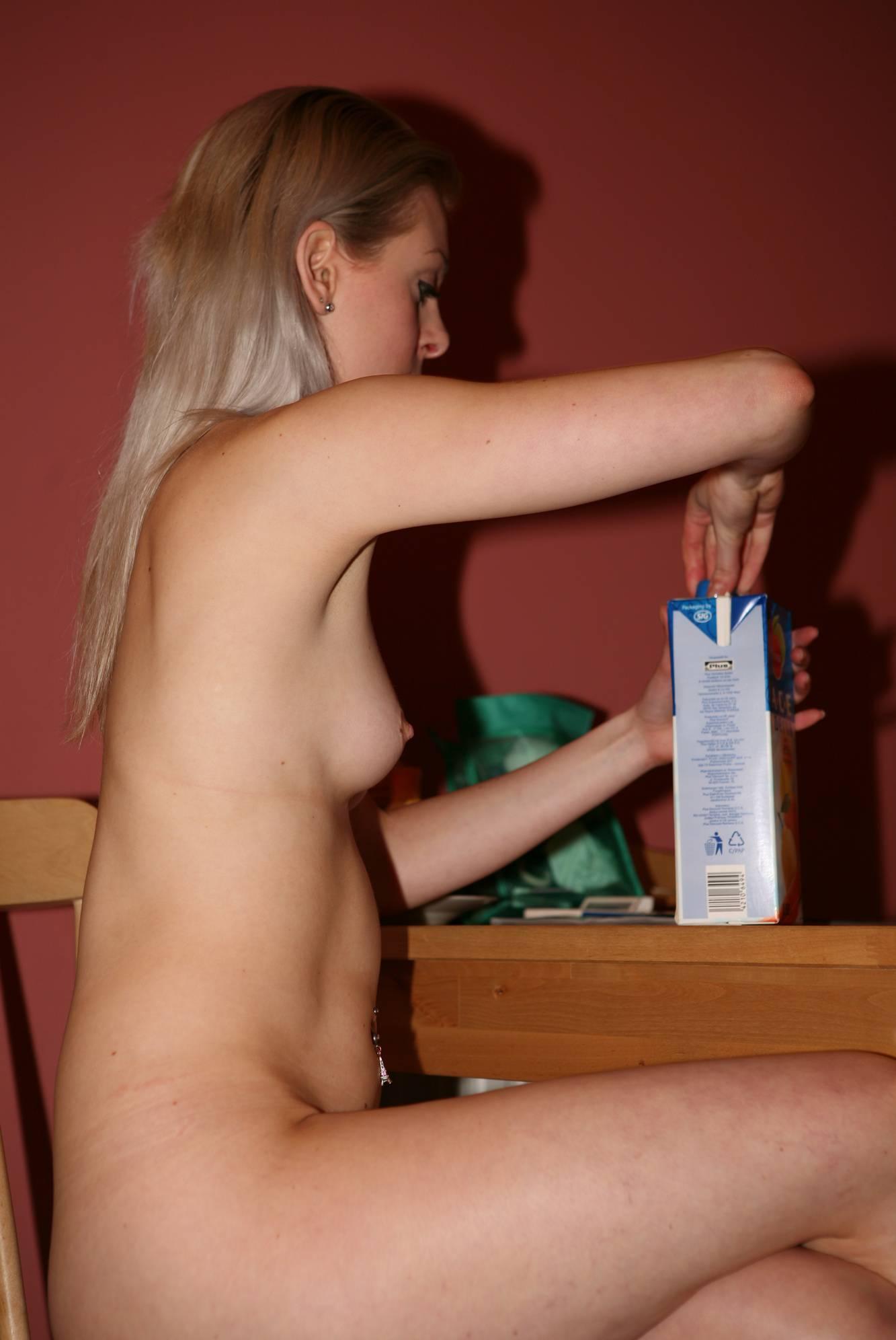 Pure Nudism Images-Girls Evening Celebration - 2