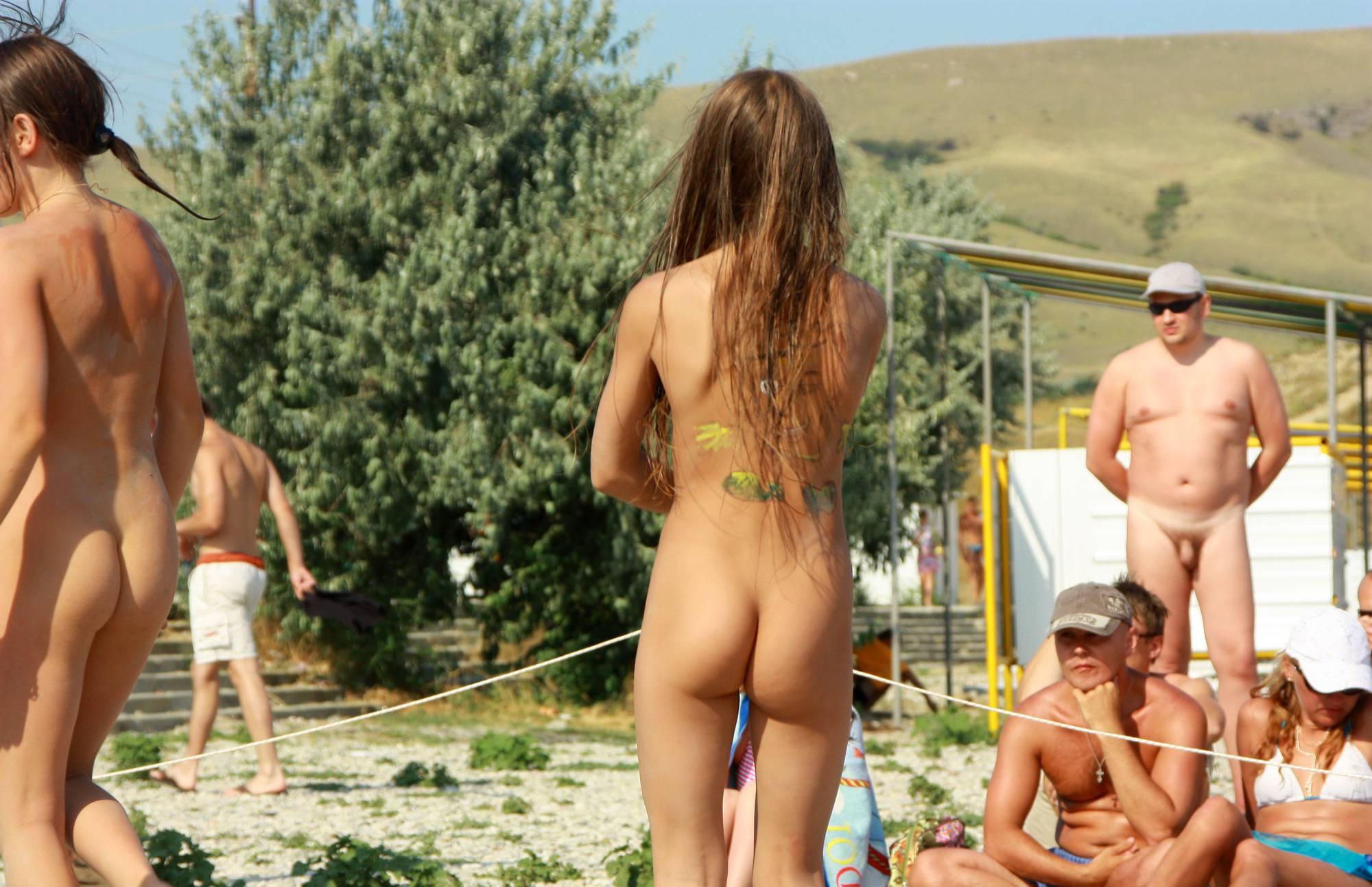 Pure Nudism Pics Miss Natura Beach Dance - 1