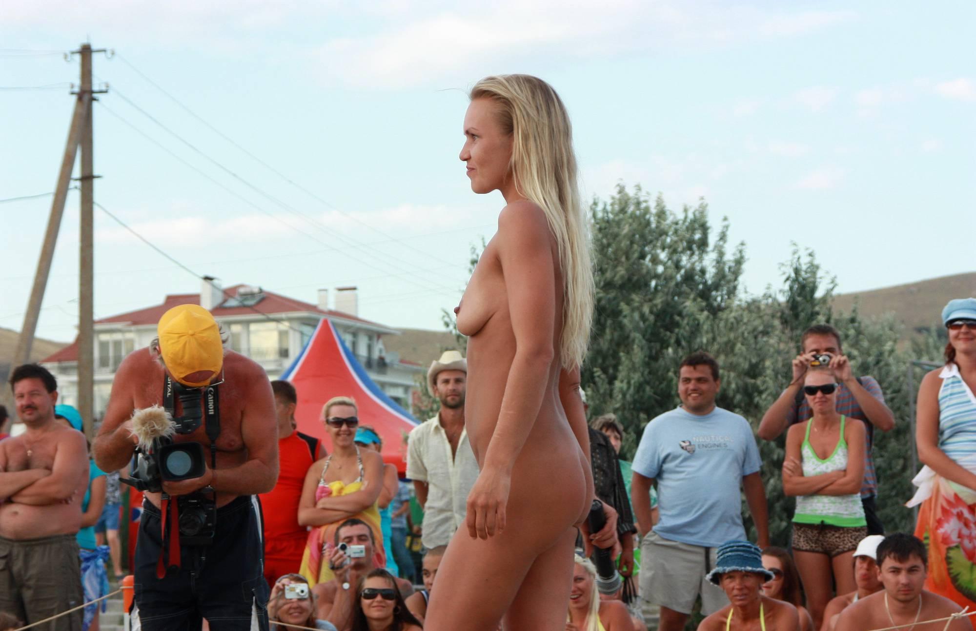 Pure Nudism Photos-Neptune Blonde Girl Dance - 2