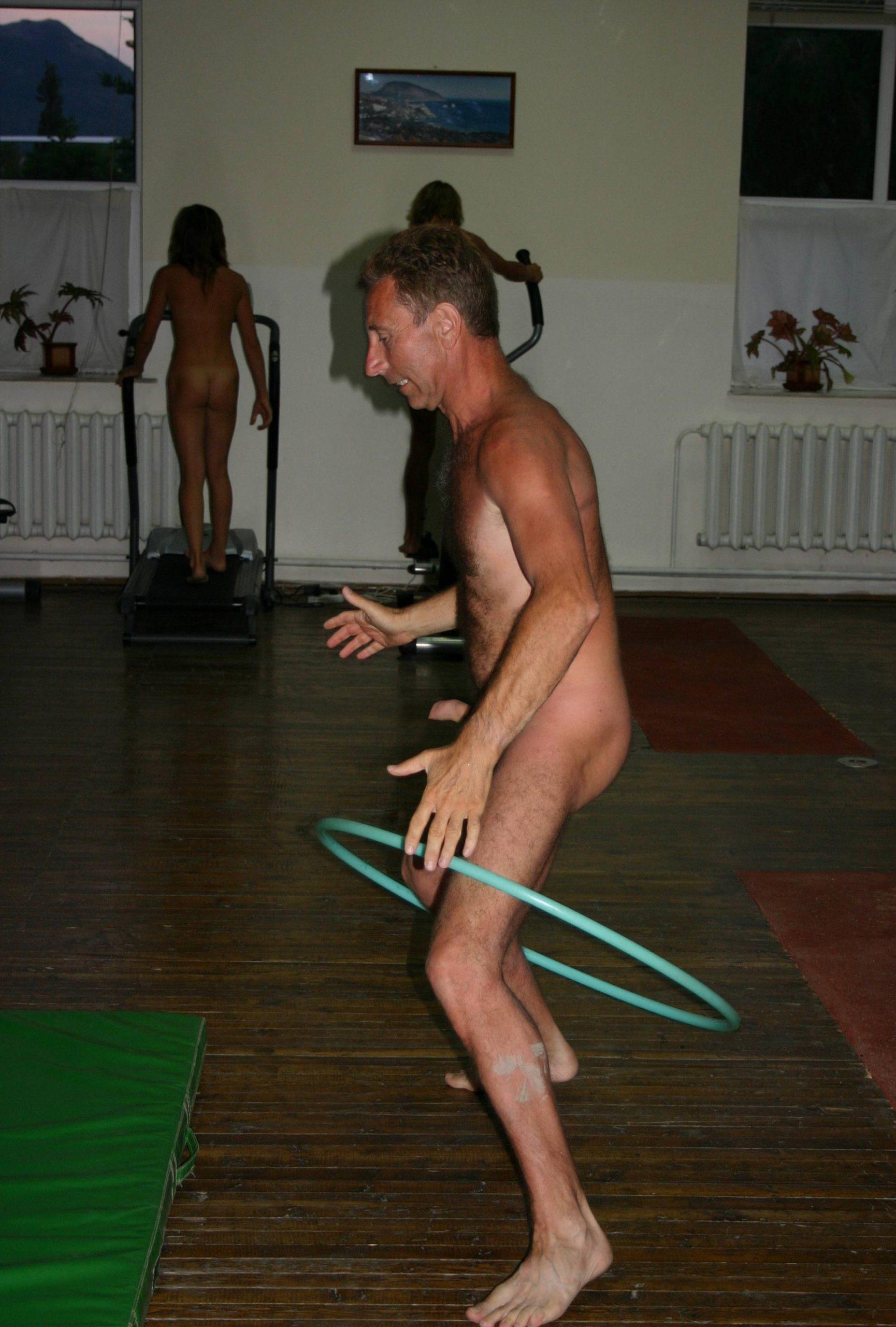 Nudist Family Acrobatics - 4