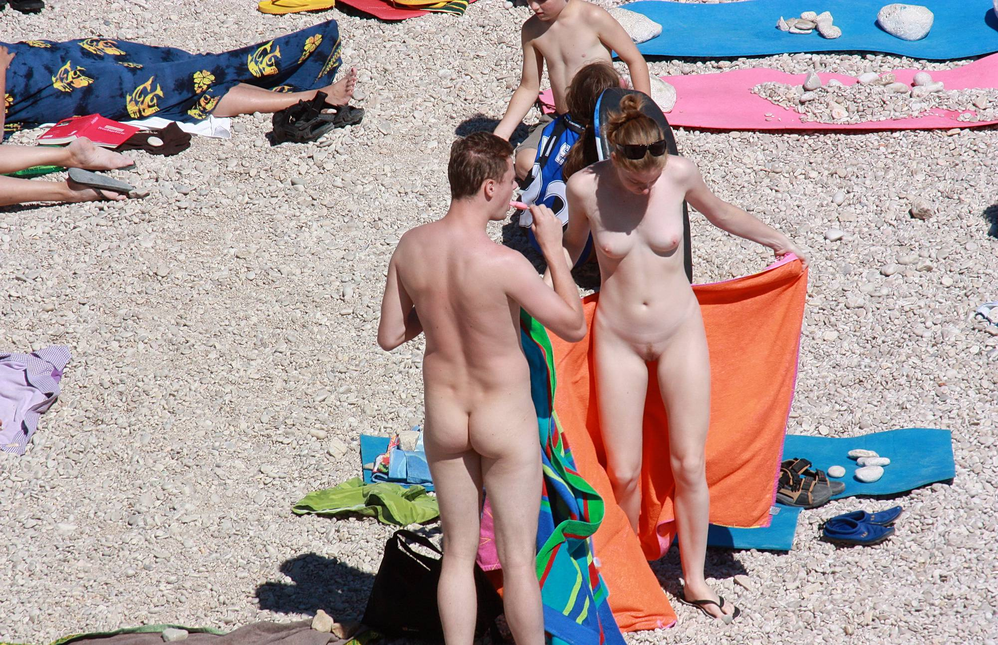 Pure Nudism Pics-Beachy Keen Summer Day - 3