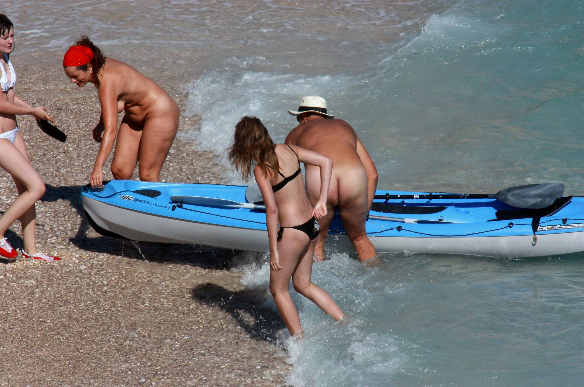 Pure Nudism Gallery-Blue Board and Color Floater - 3