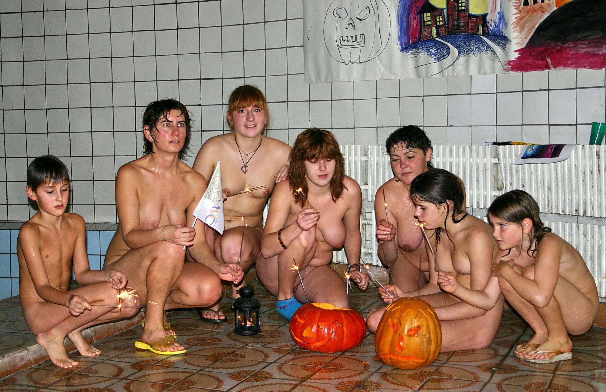 Purenudism Pics-Halloween Party Overview - 1