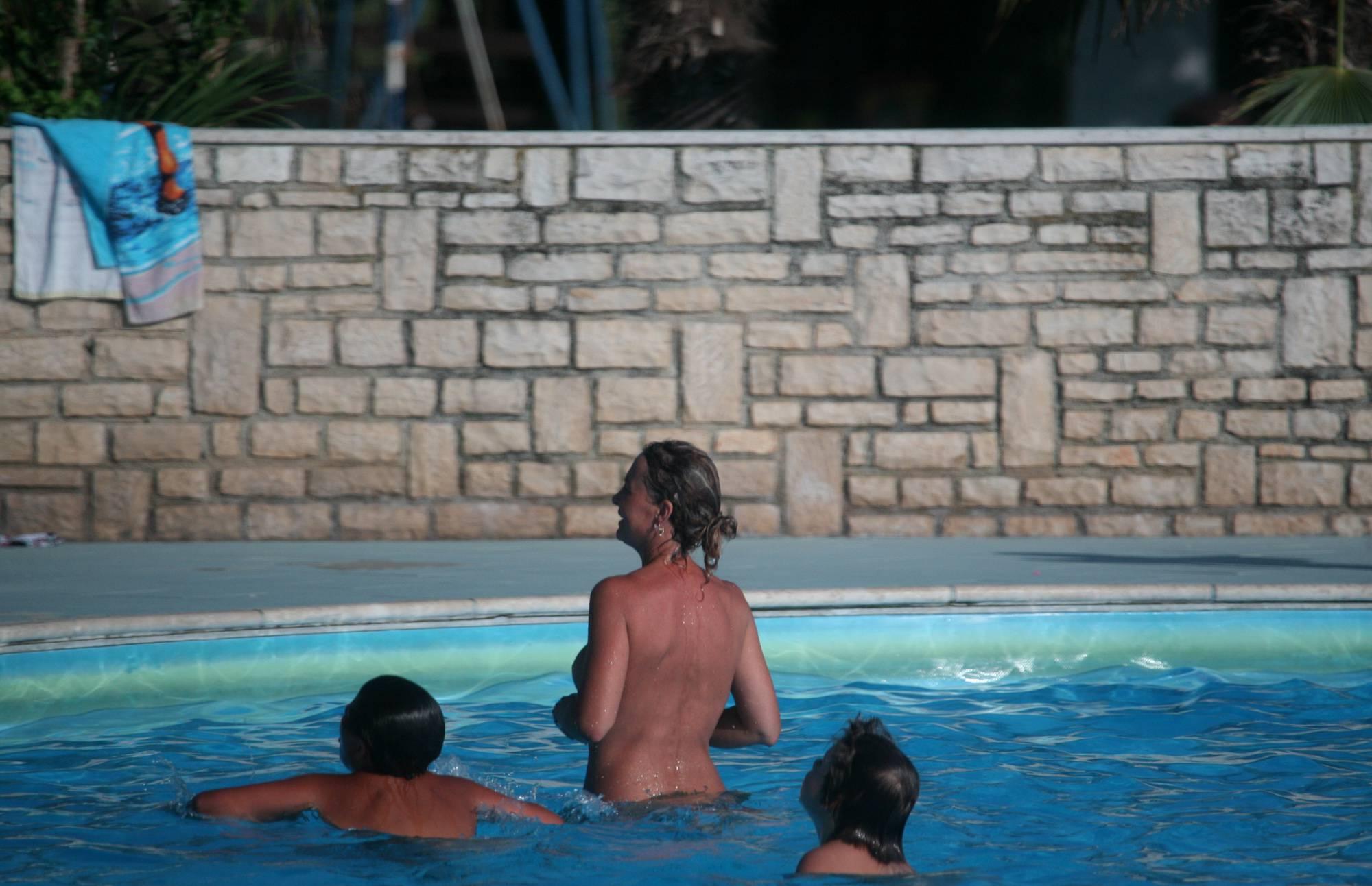 Inner Pool Nudist Activity - 2