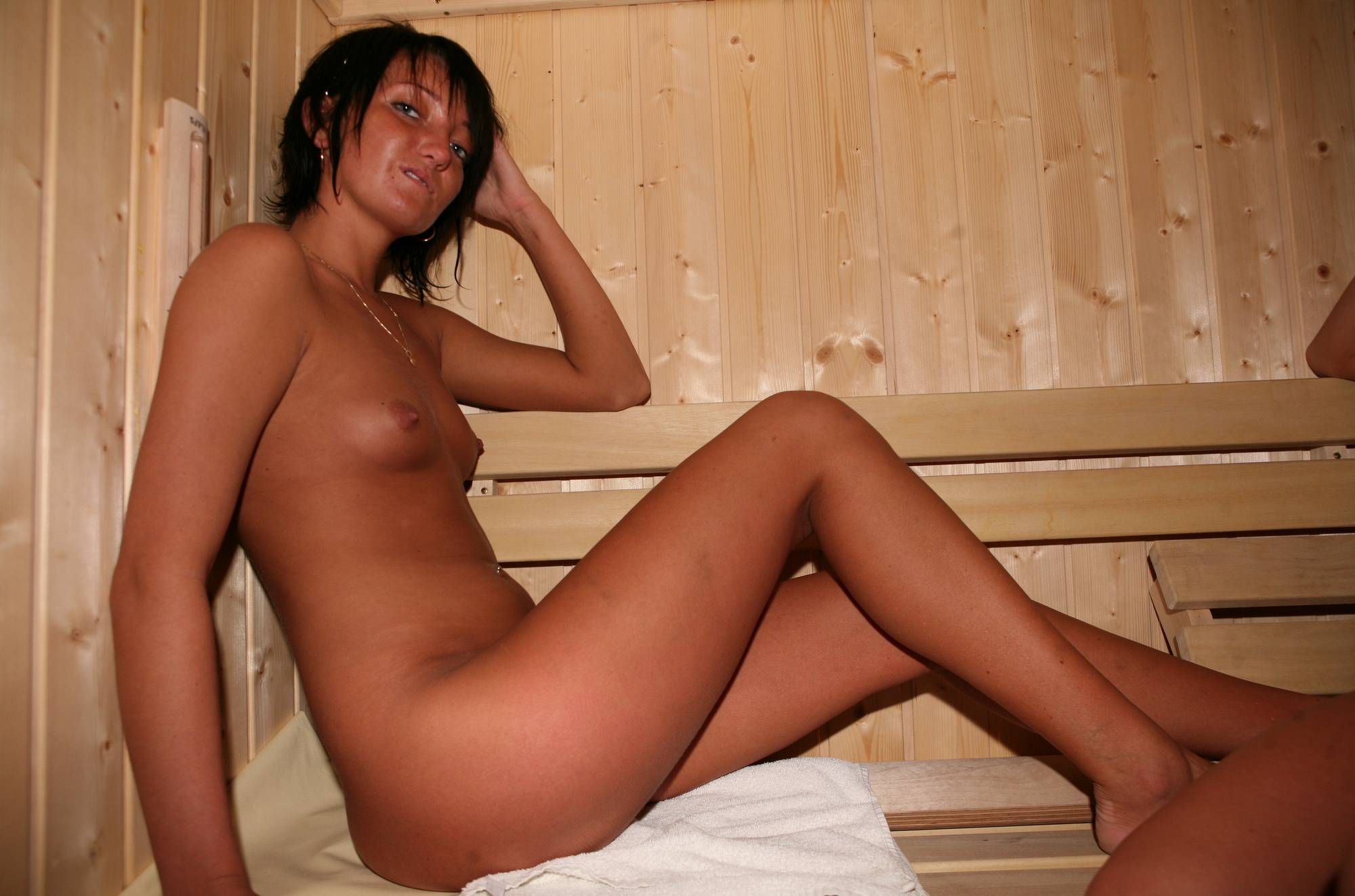 Pure Nudism Images-Jacuzzi Sauna Relaxation - 1