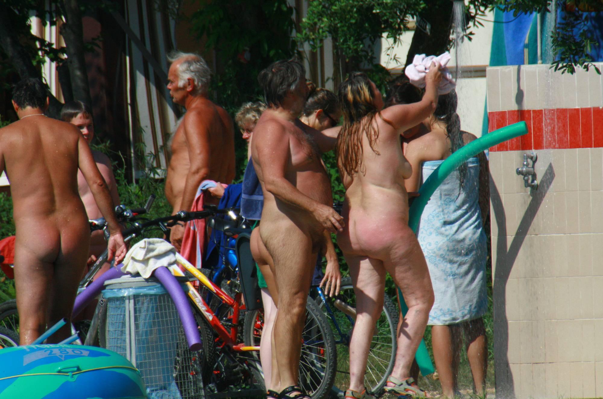 Naturist Outdoor Showers - 3