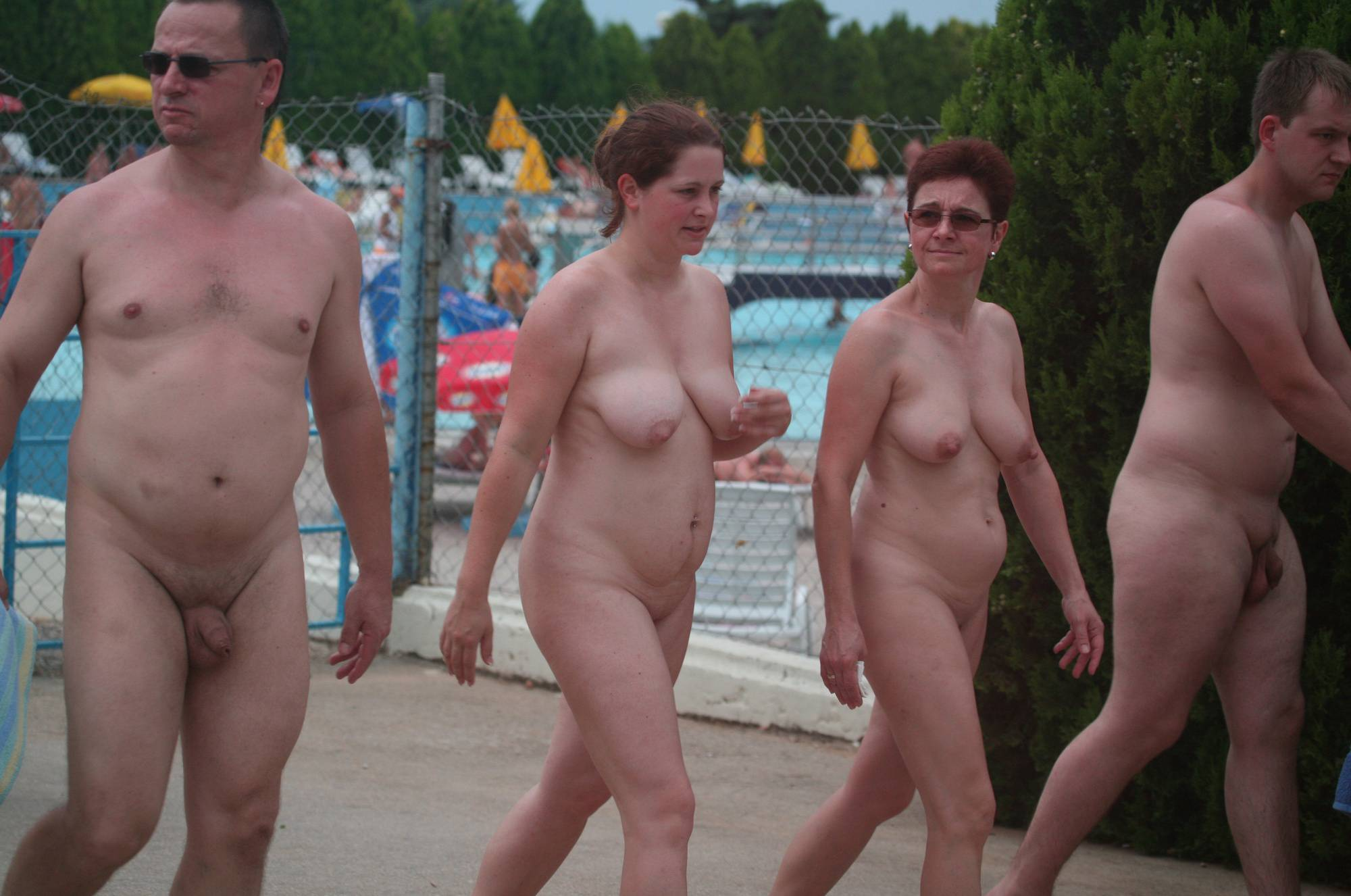 Naturist Resort Pool Exits - 3