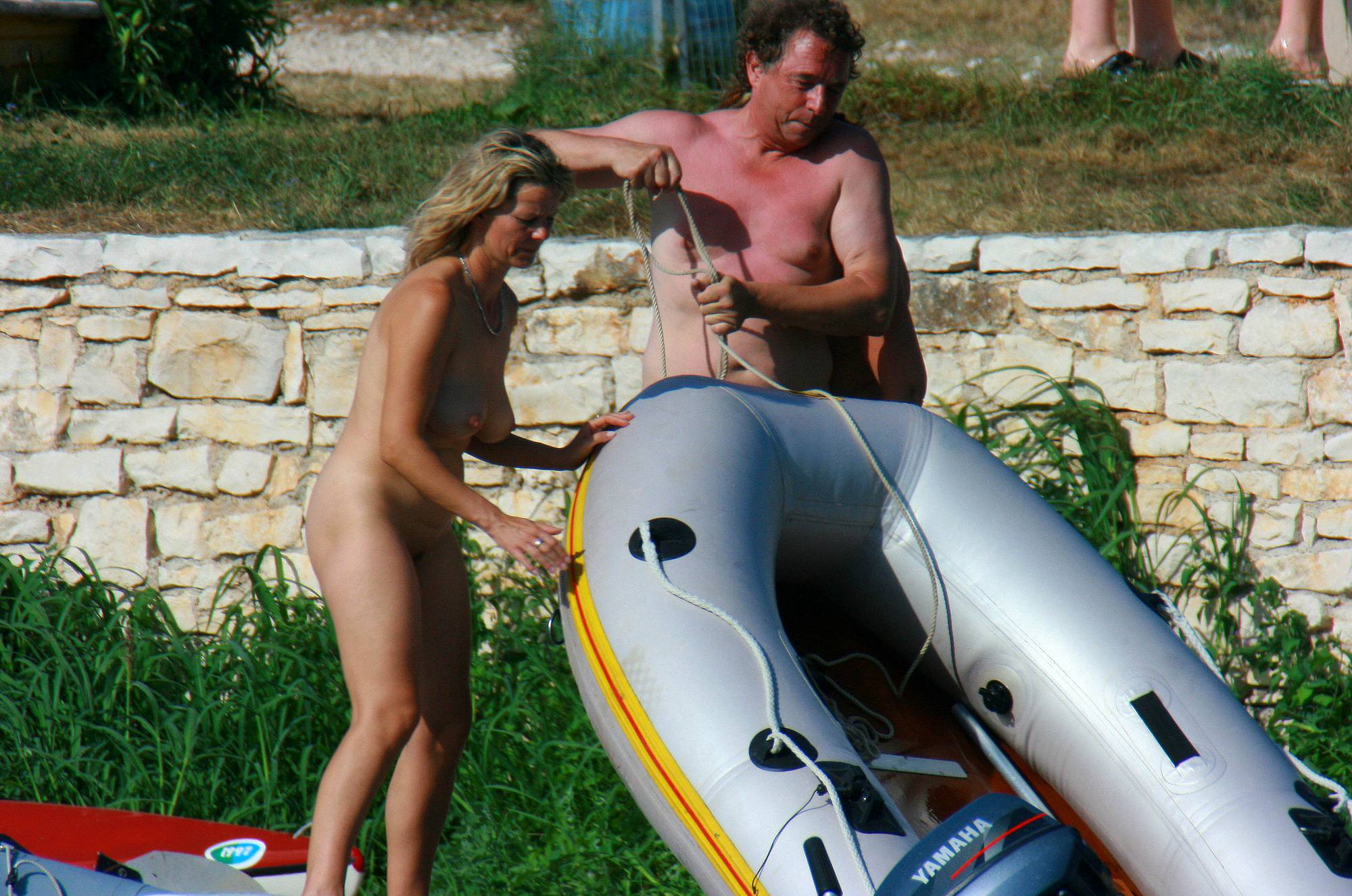 Purenudism-Uka FKK Boating Day Plans - 2