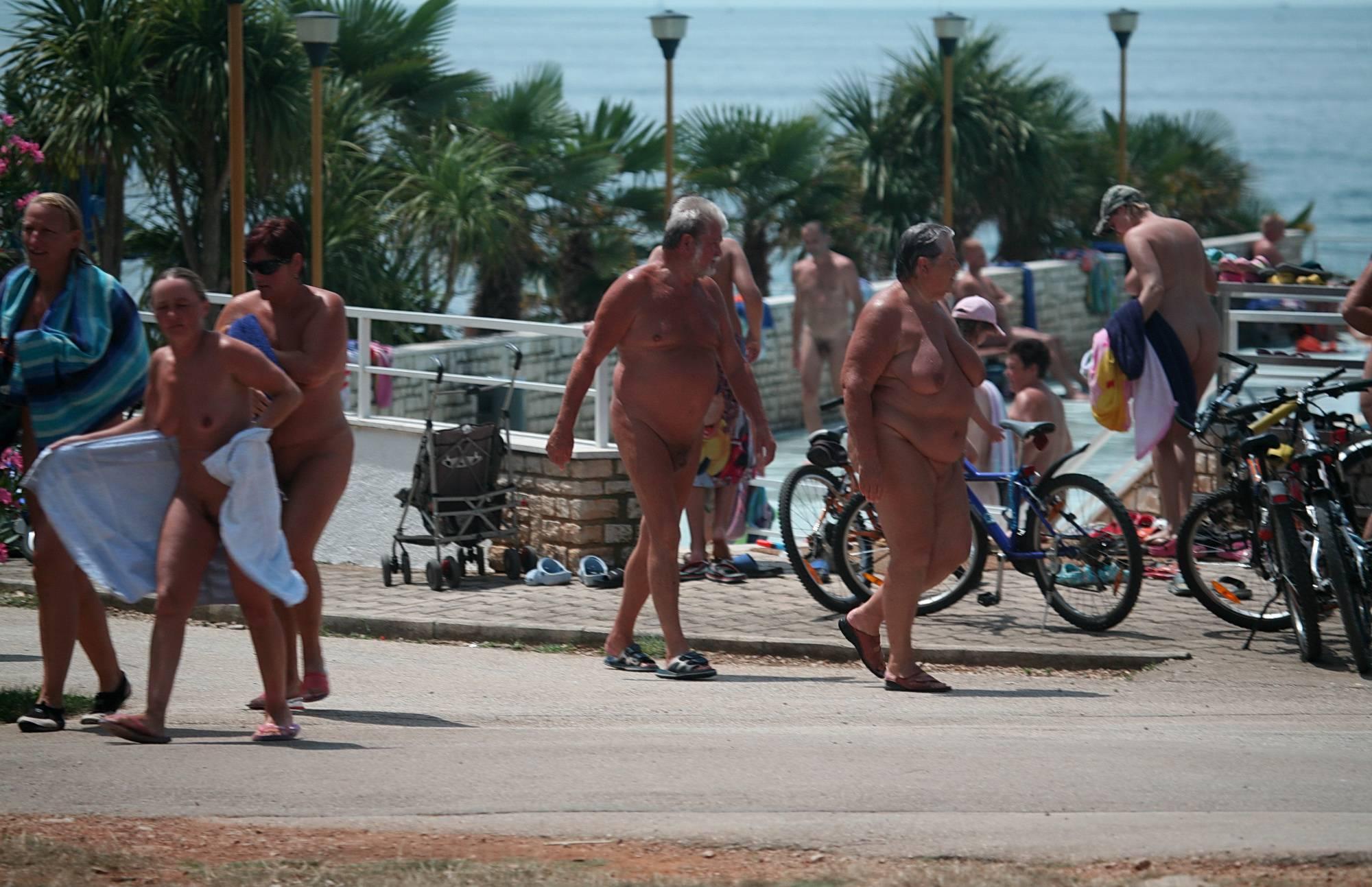 Pure Nudism Photos-Walking Bikes Playground - 1