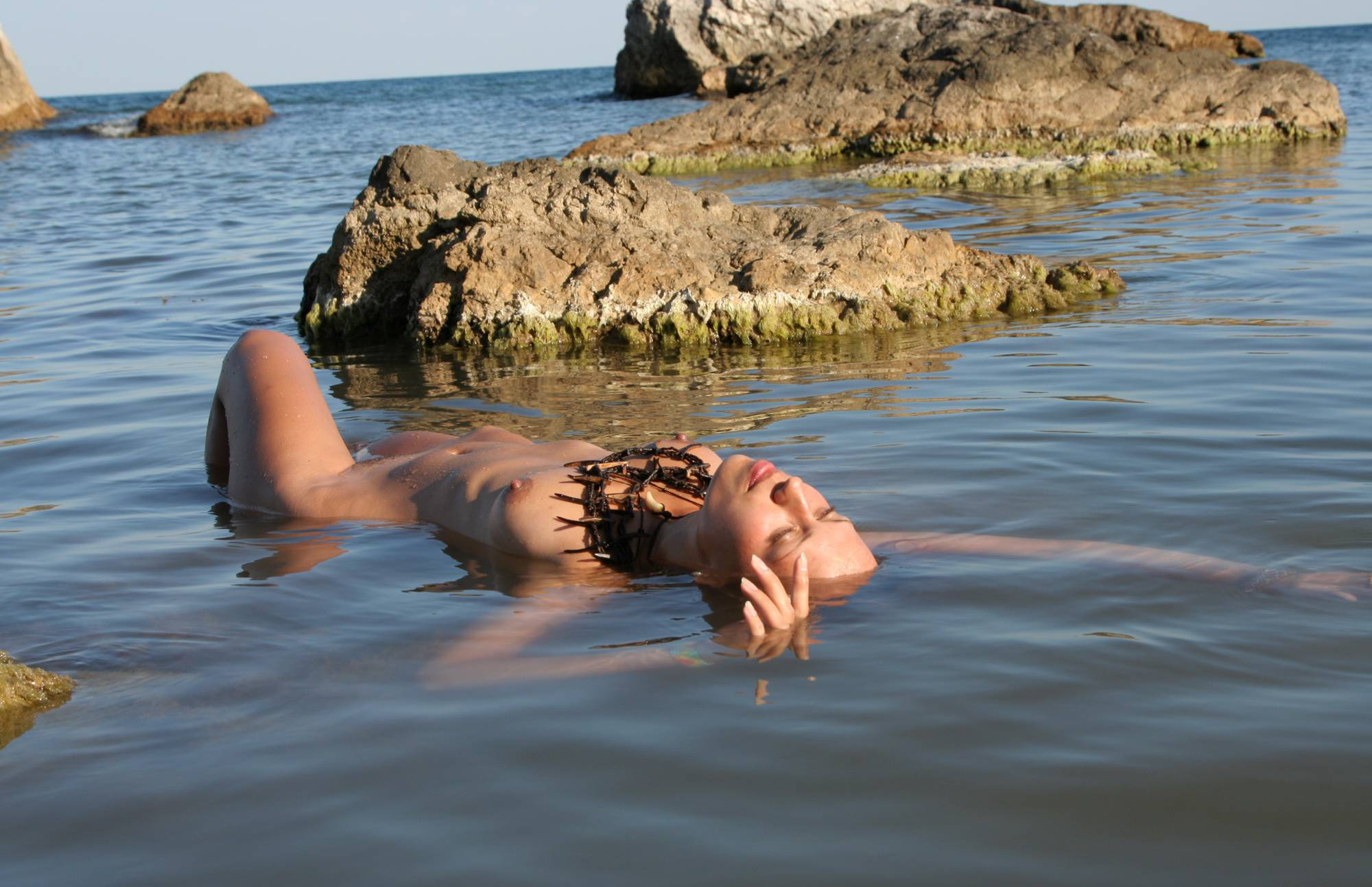 Purenudism Girl Emerges From Waters - 4