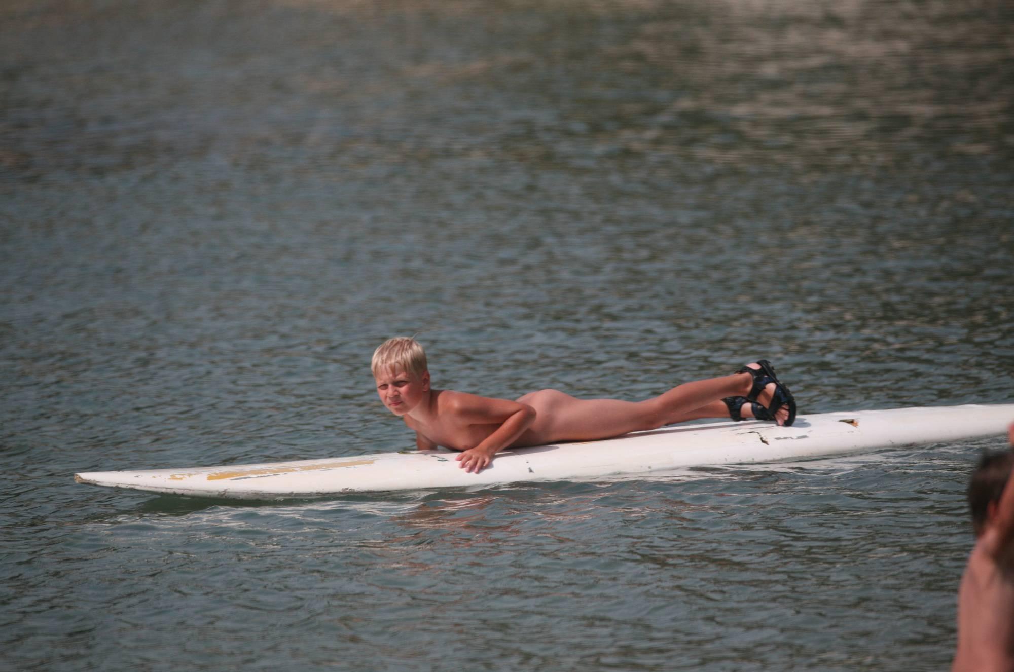 Purenudism Photos-Naturist White Boy Surfer - 1