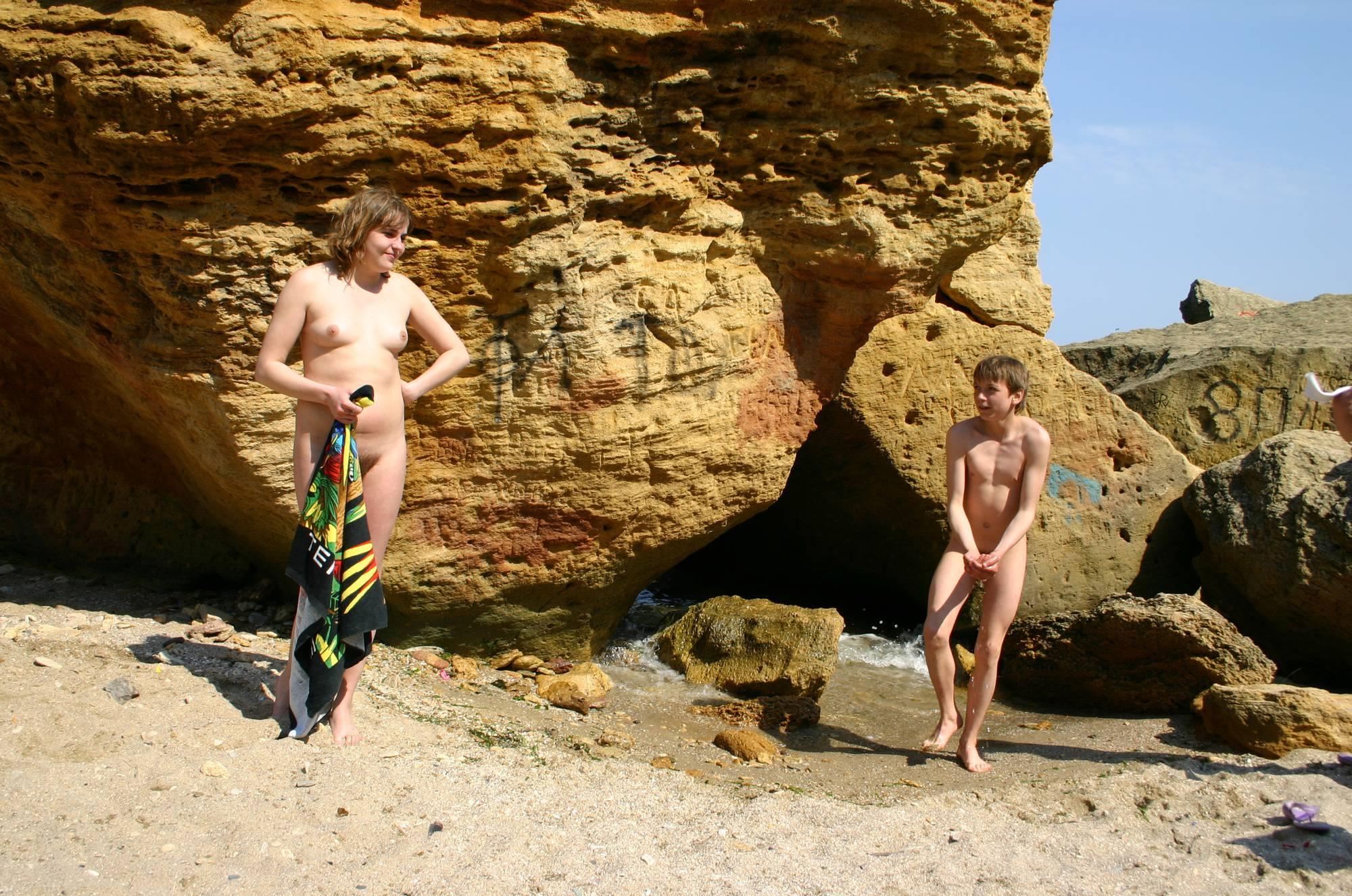 Pure Nudism-Playing Around the Rocks - 3