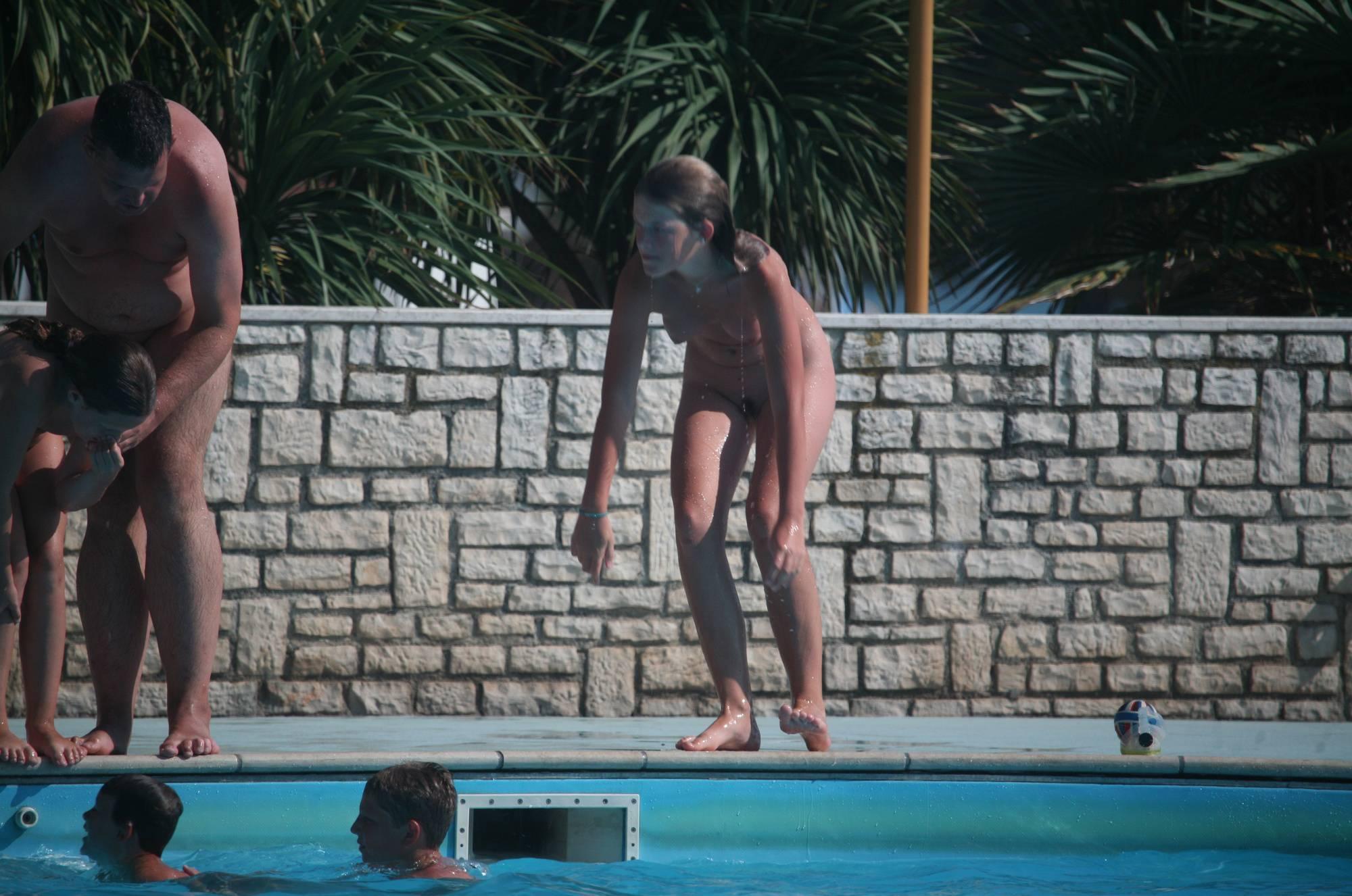 Pure Nudism Gallery-Pool Teenager Chaperon - 1