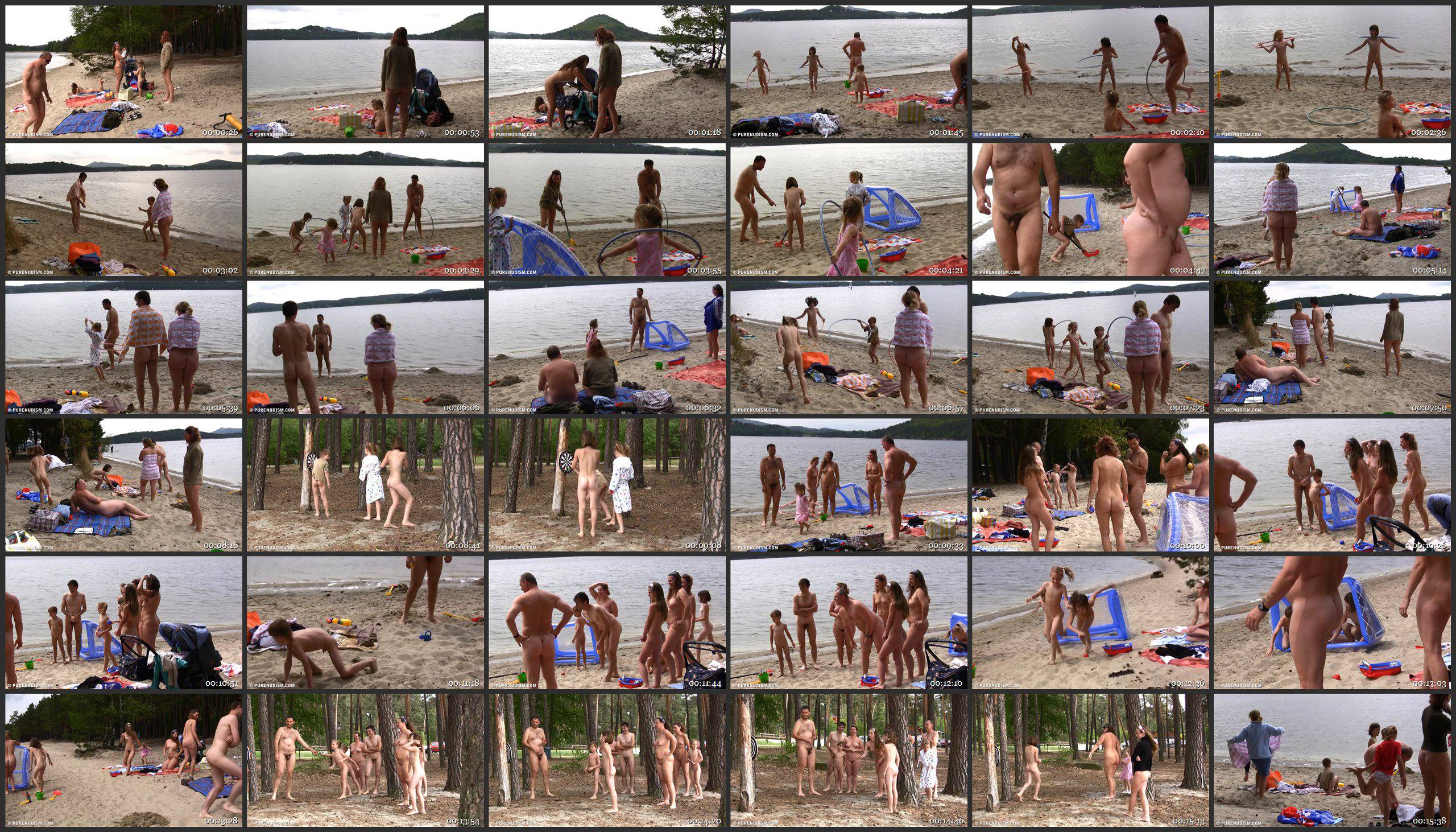 Pure Nudism-Naturist Sport Medley 1 - Thumbnails