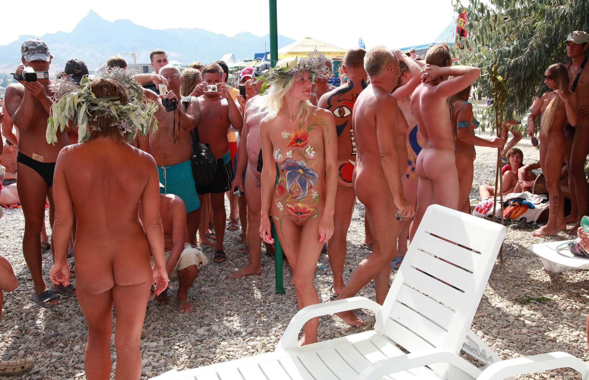 Pure Nudism Images Neptune Guests in the Hut - 3