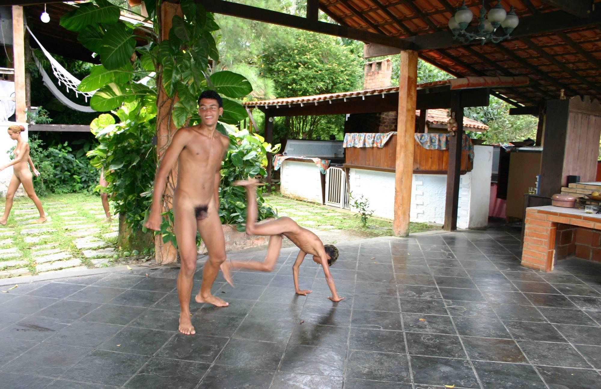 Pure Nudism-Brazilian Men Are Dancing - 3