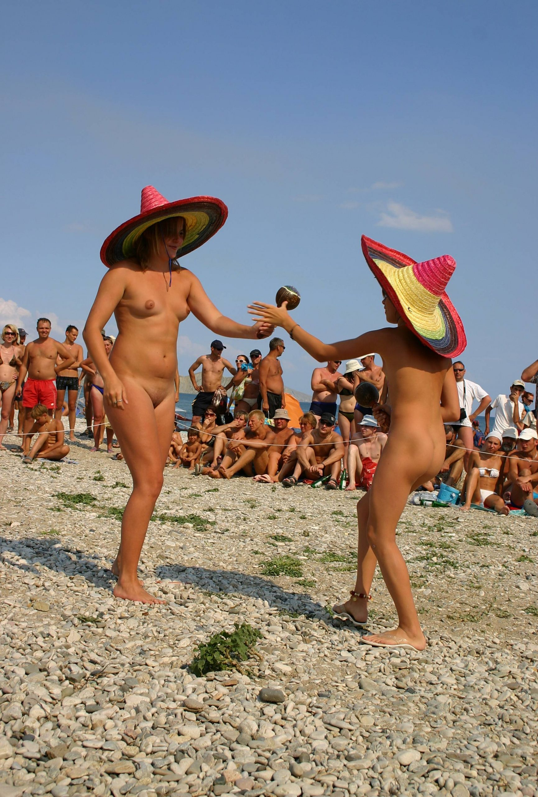 Purenudism Images-Costume Hat Day Dance - 1