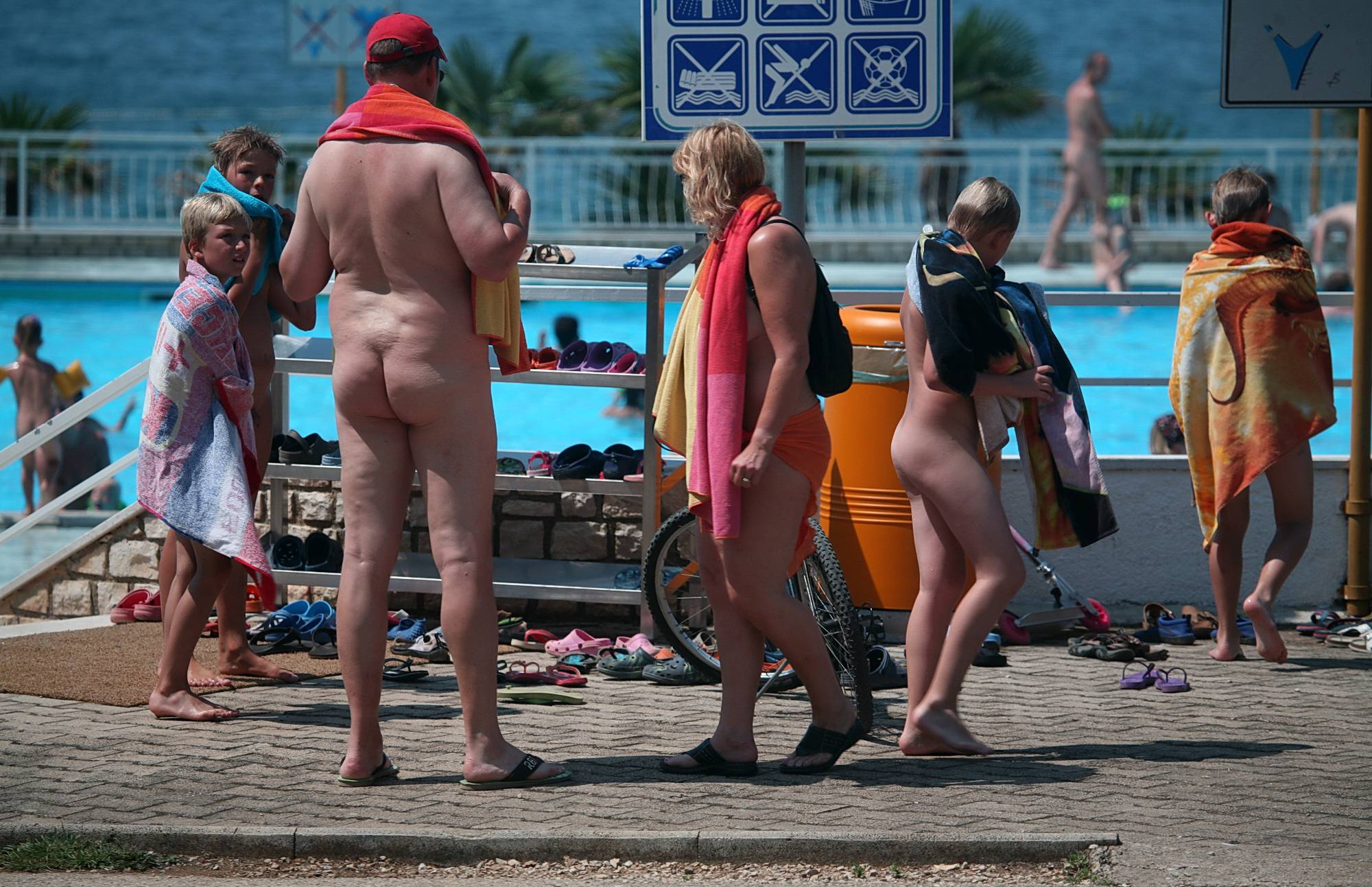 Daytime Nudists Chill Out - 1