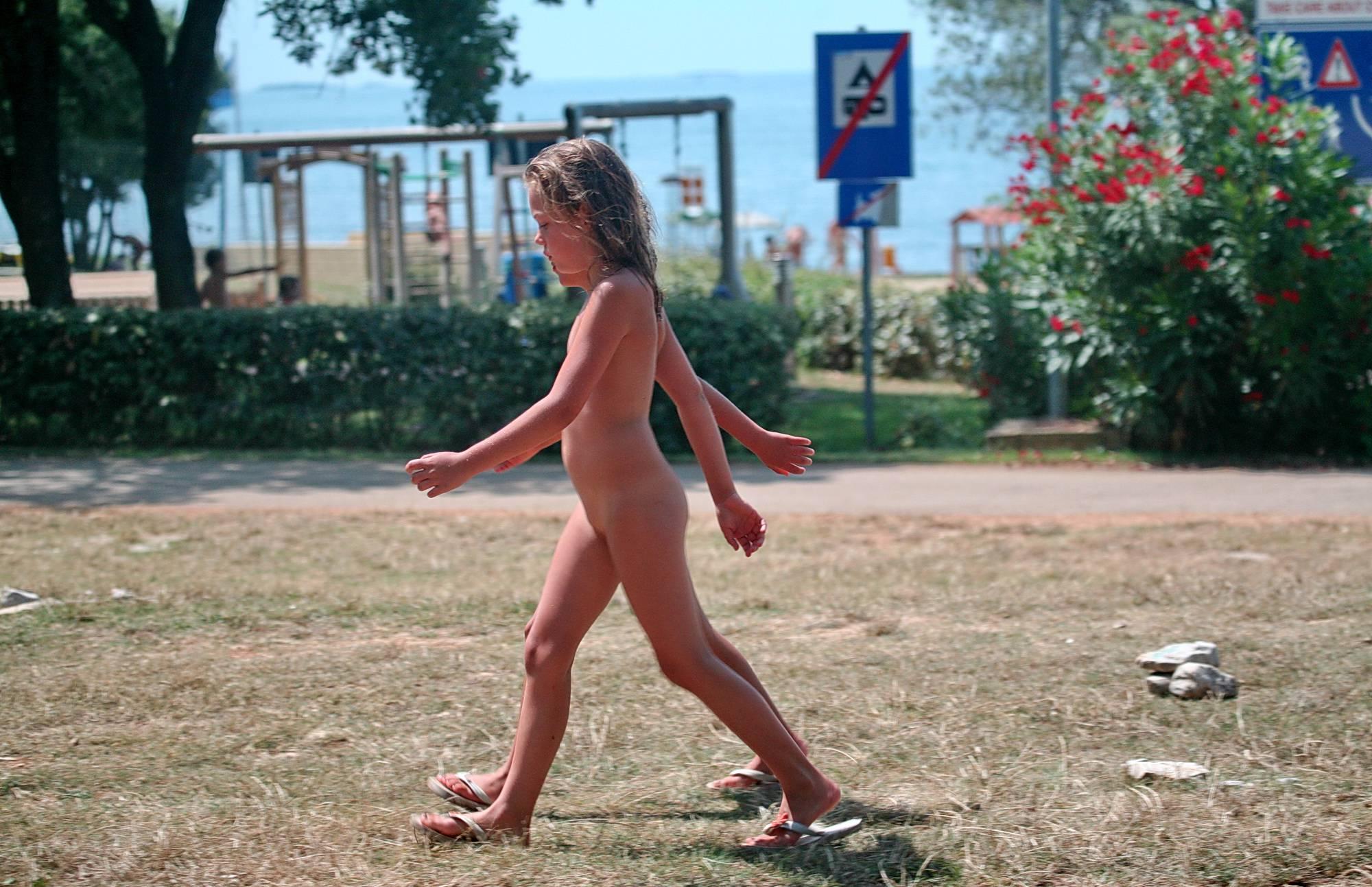 Purenudism Images-Naturist Caught in Walking - 2