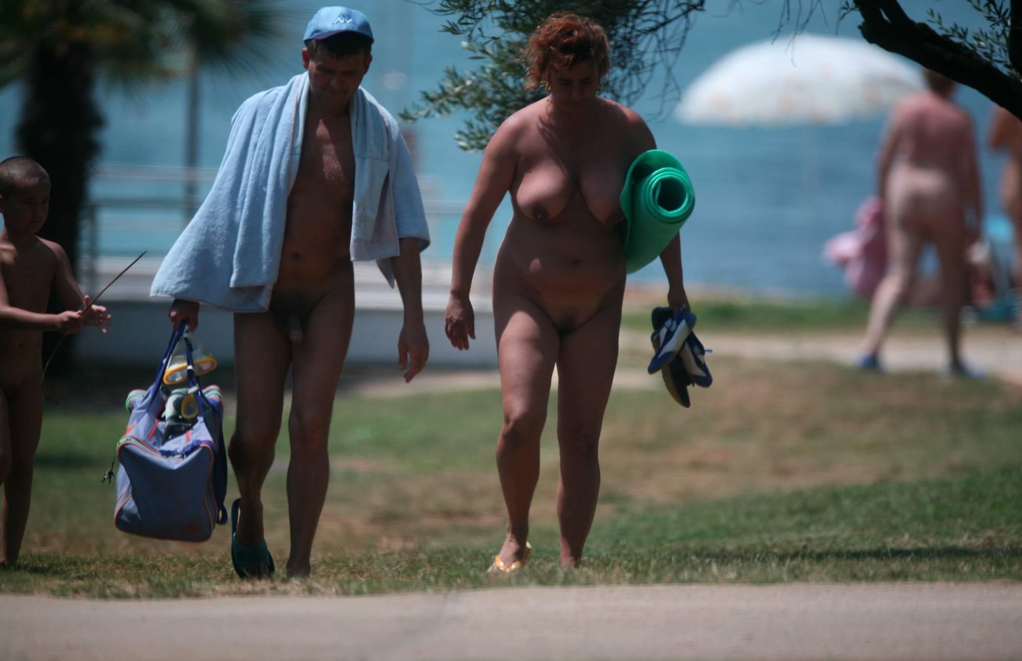 Purenudism Images-Nude Park Walks Captured - 2