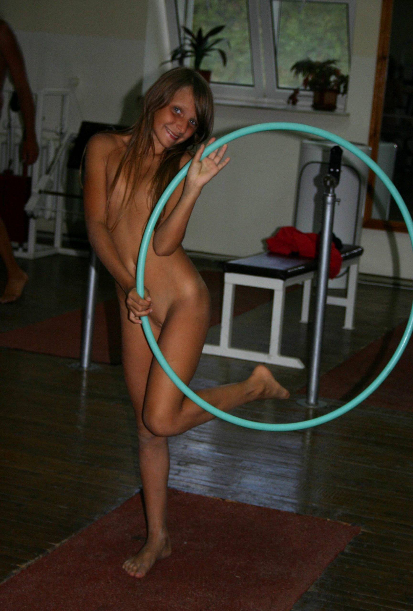 Nudist Family Acrobatics - 2