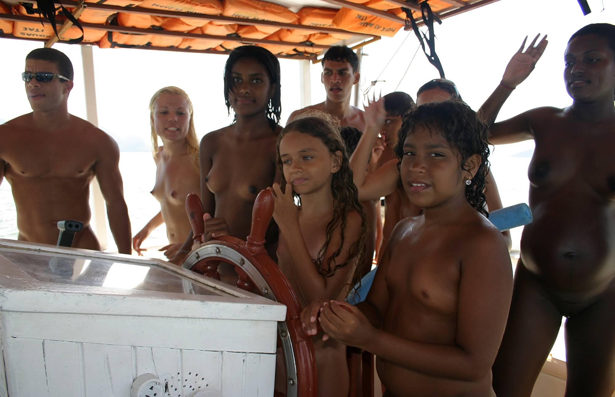 Pure Nudism Photos-On-Boat Sun Adventures - 4