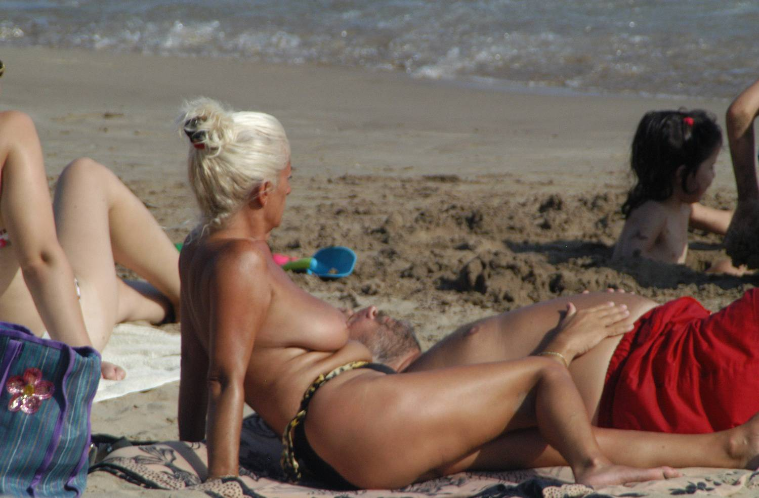Sitges Topless Beach - 1