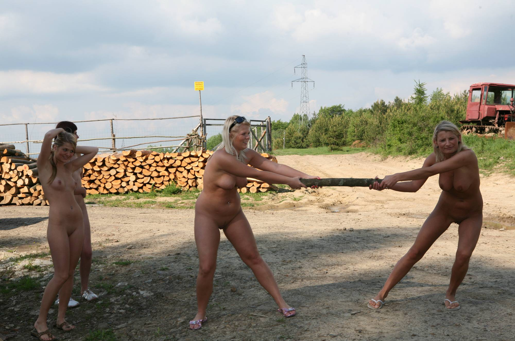 Purenudism-Woody Lumber Yard - 2