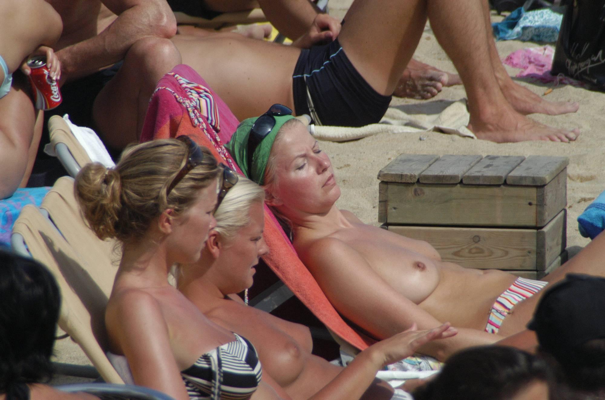 Barcelona Topless Beach - 1