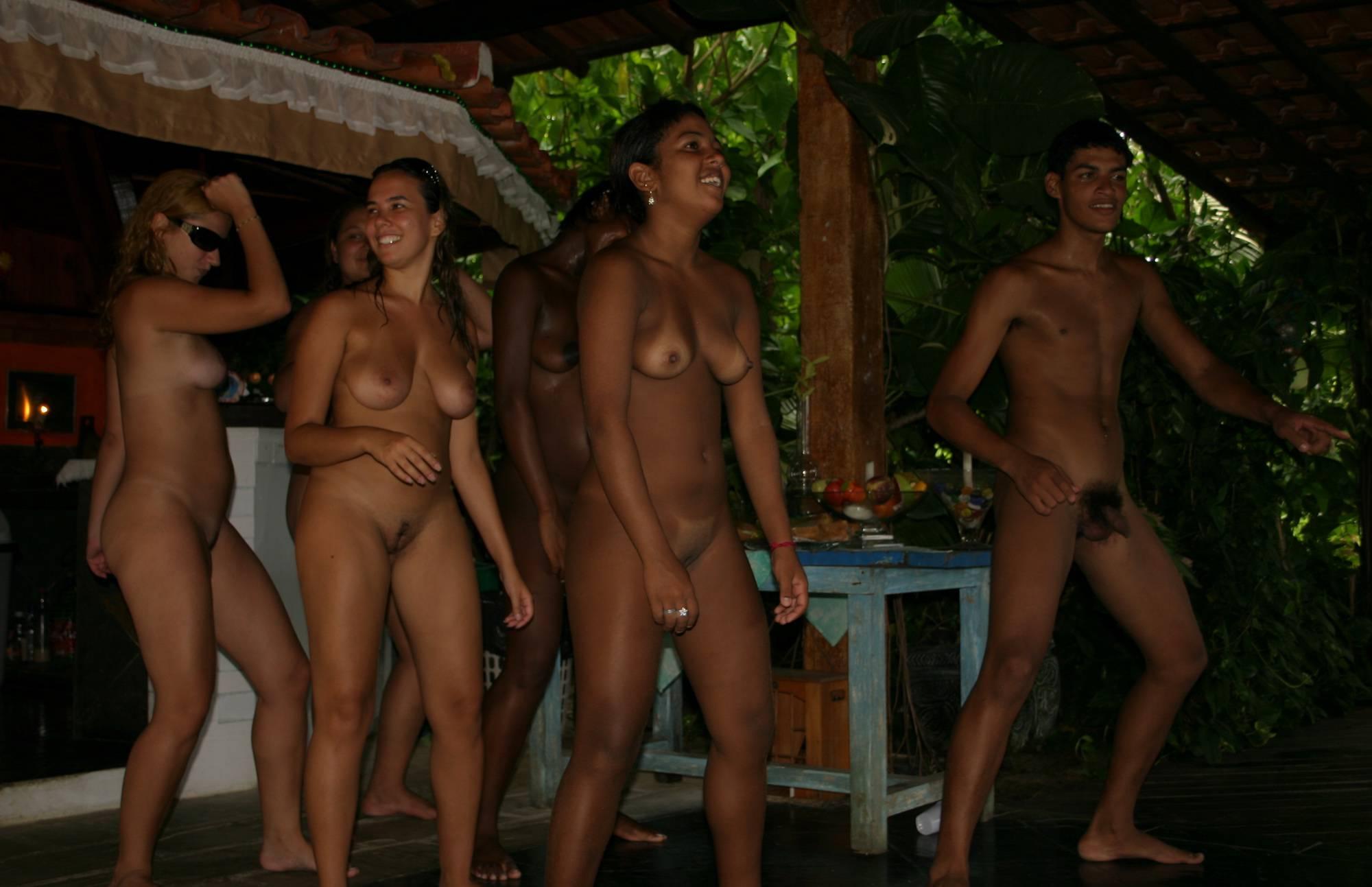 Brazilian Nude Hut Dancing - 1