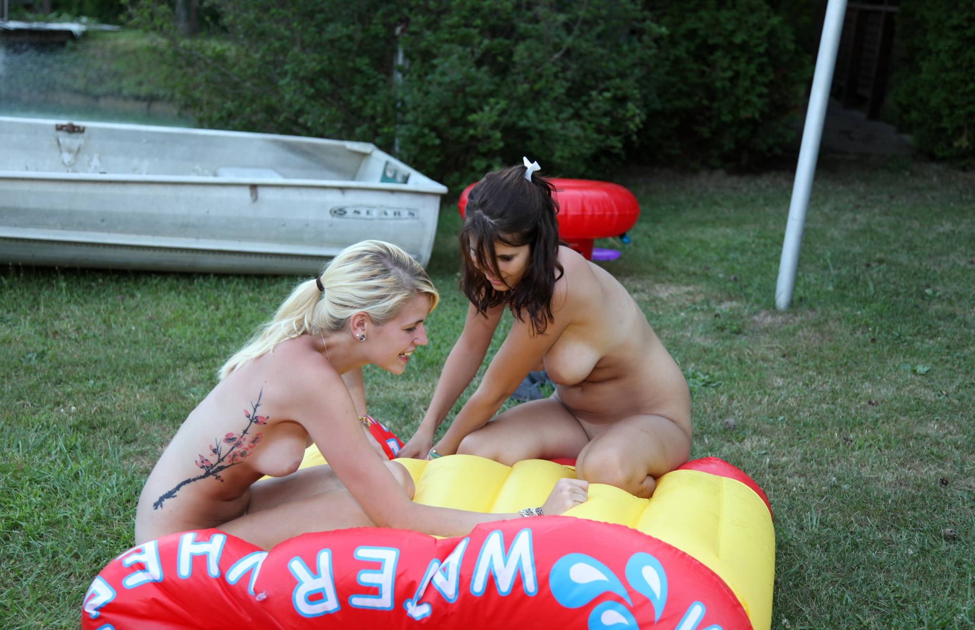 Purenudism Images-Deflating The Inflatables - 1