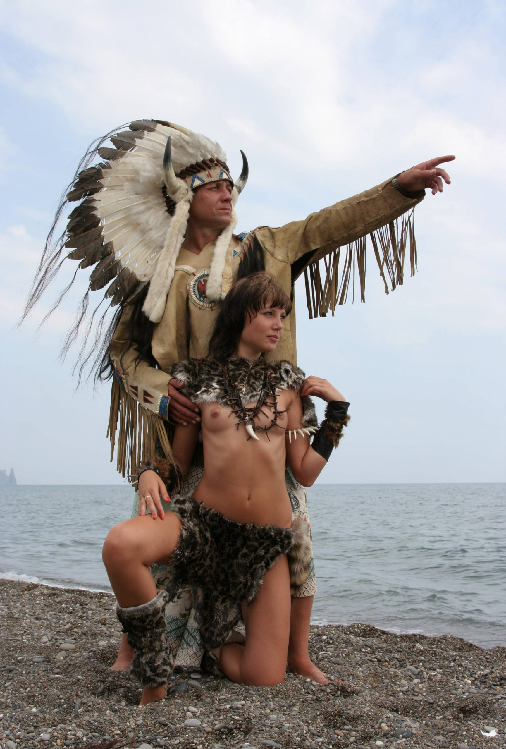 Pure Nudism-From Warriors to Indians - 2