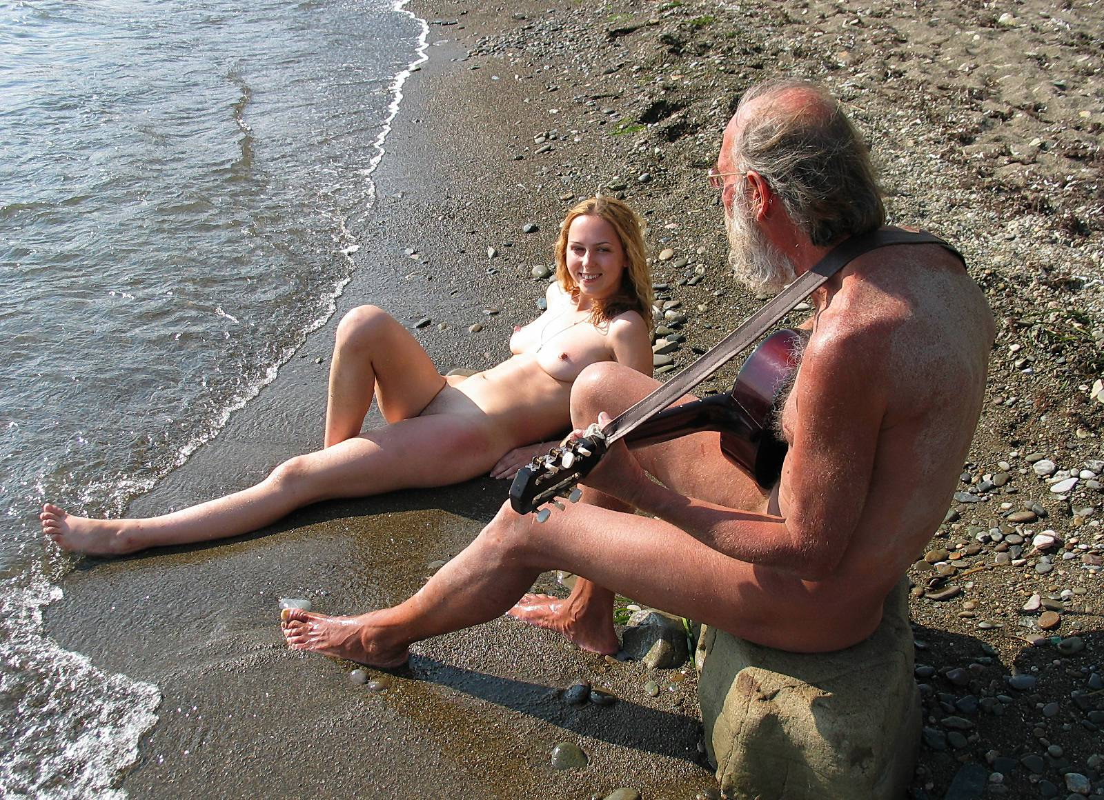 Pure Nudism Gallery-Guitarists Beach Tunes - 3
