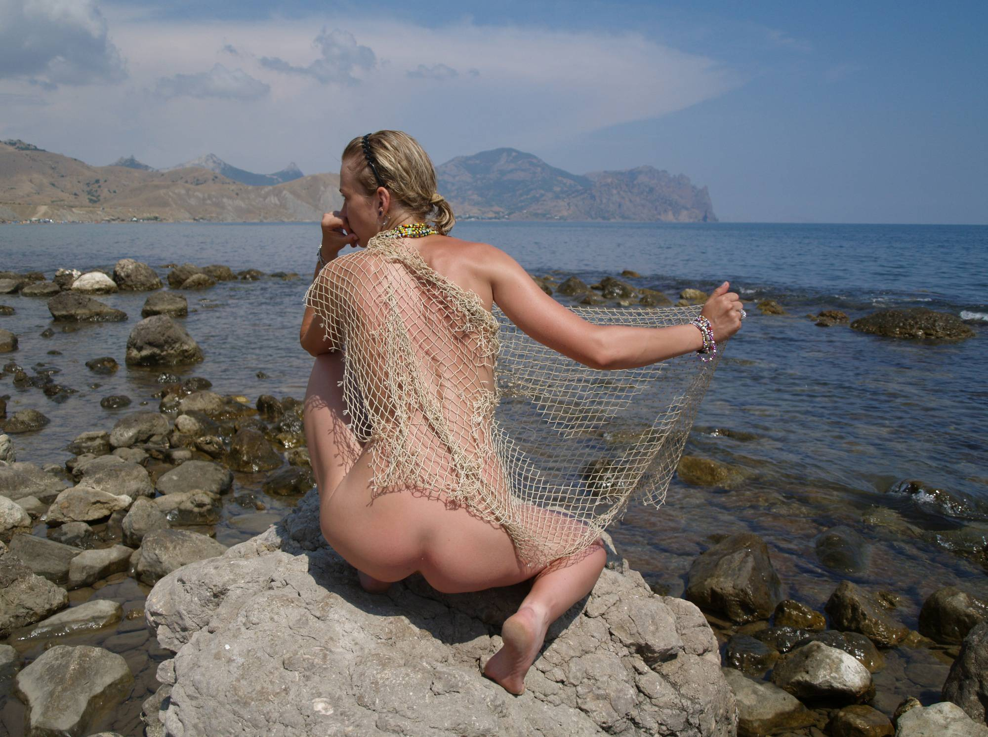 Naturist Model and Daughter - 2