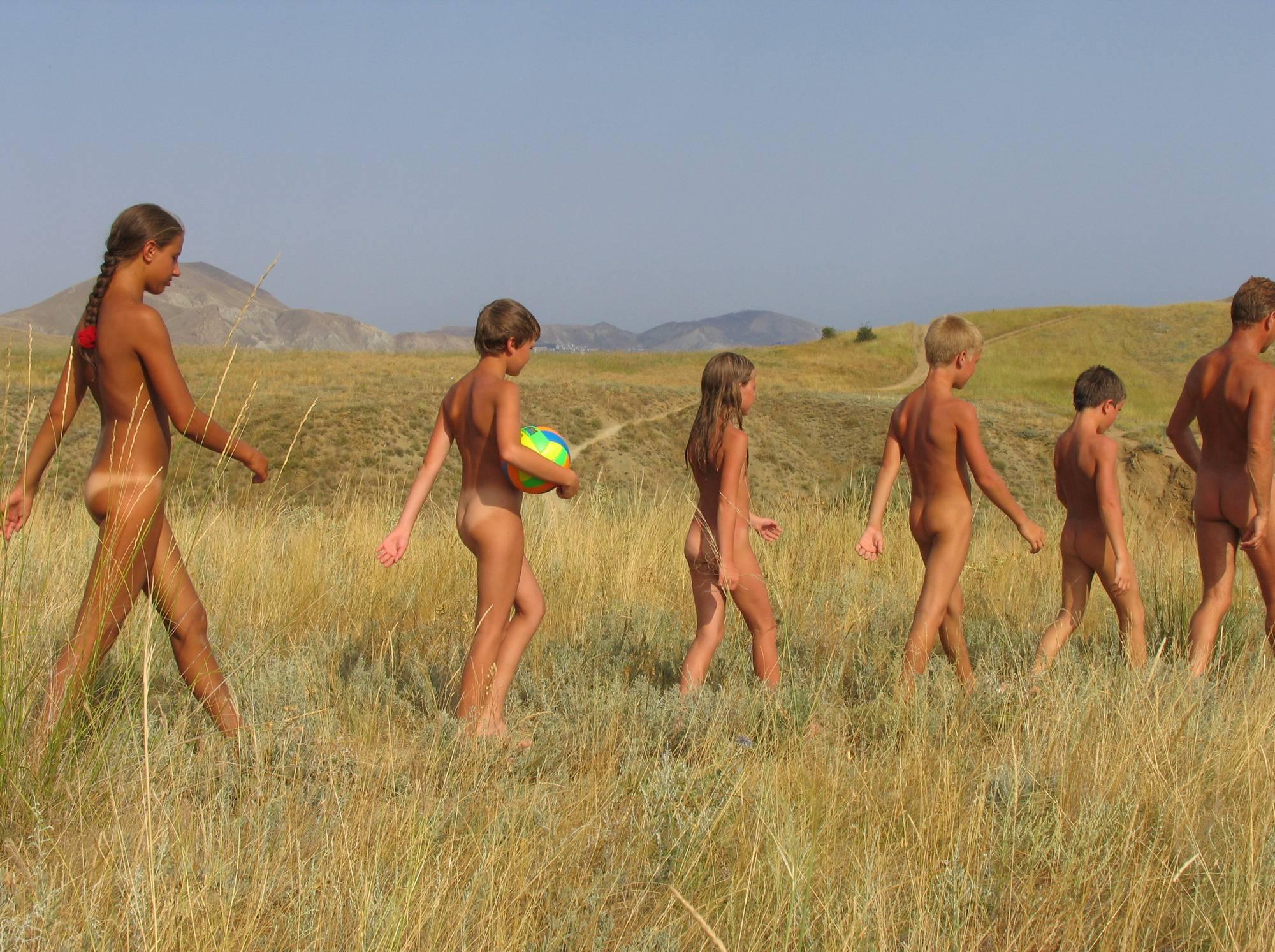 Purenudism Photos-Nude Mountain Group Hike - 2