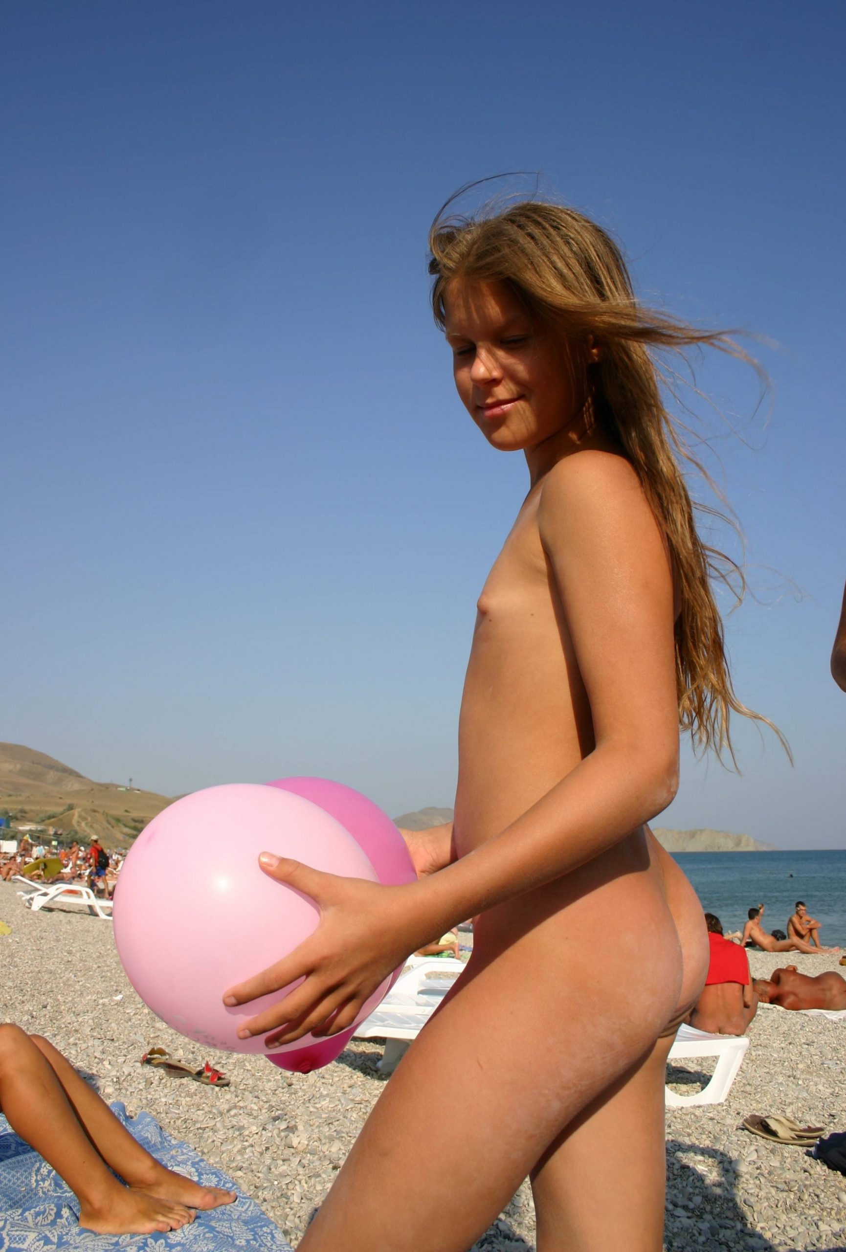 Pure Nudism Images-Our Beach Balloon Profile - 4