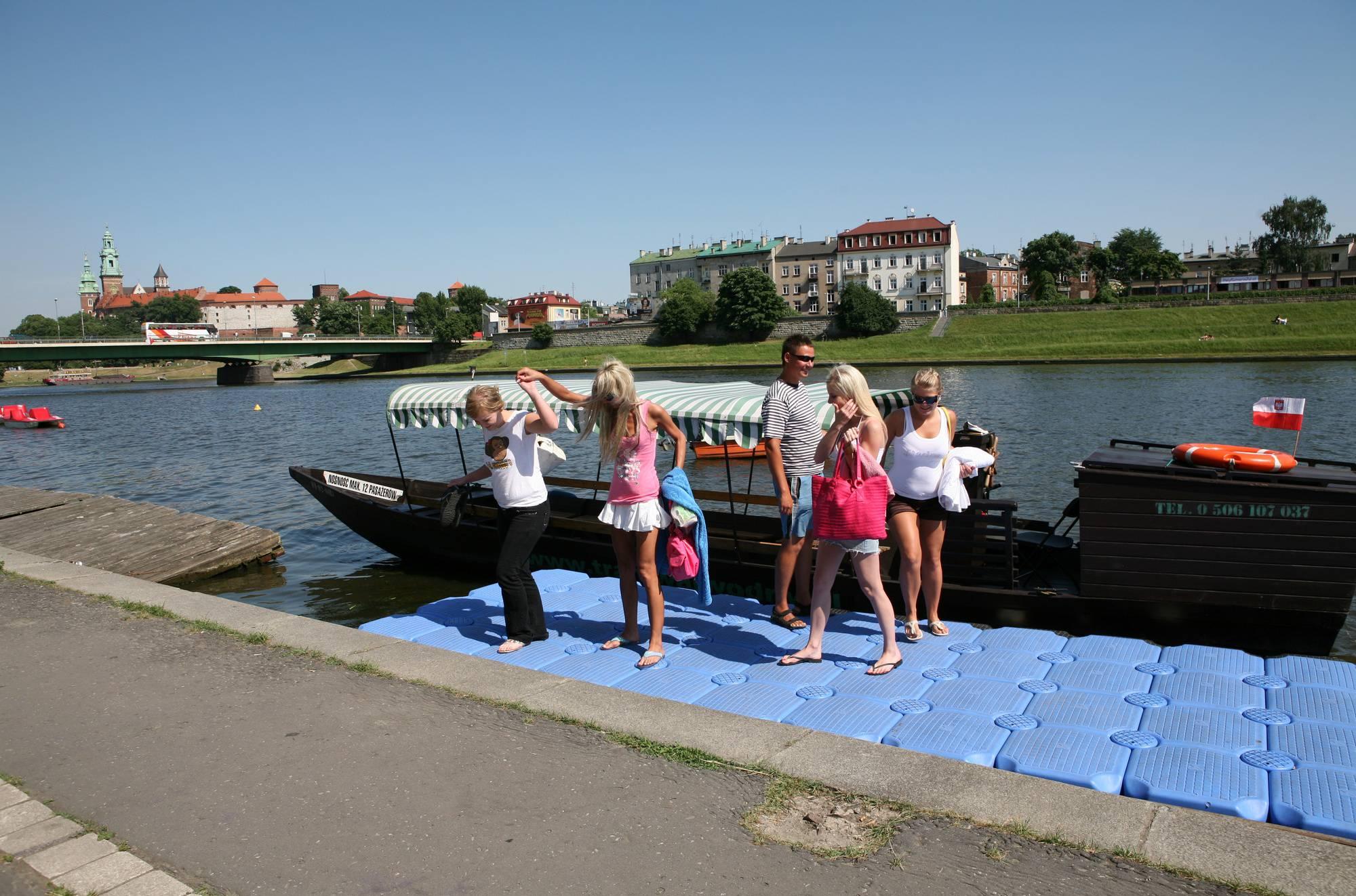 Purenudism-River Boat Preparations - 2