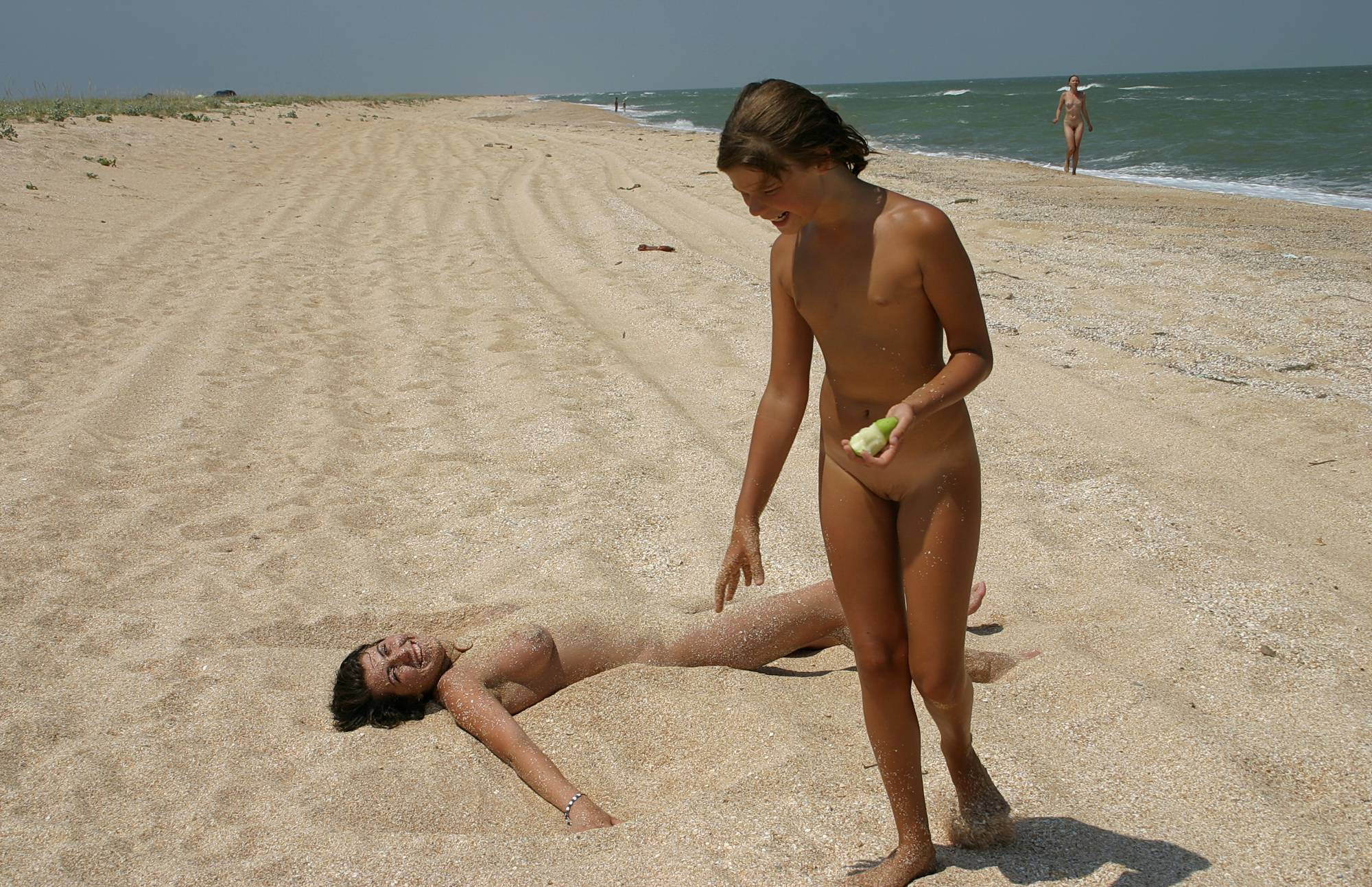 Pure Nudism Photos-Relaxing On The Beach - 3