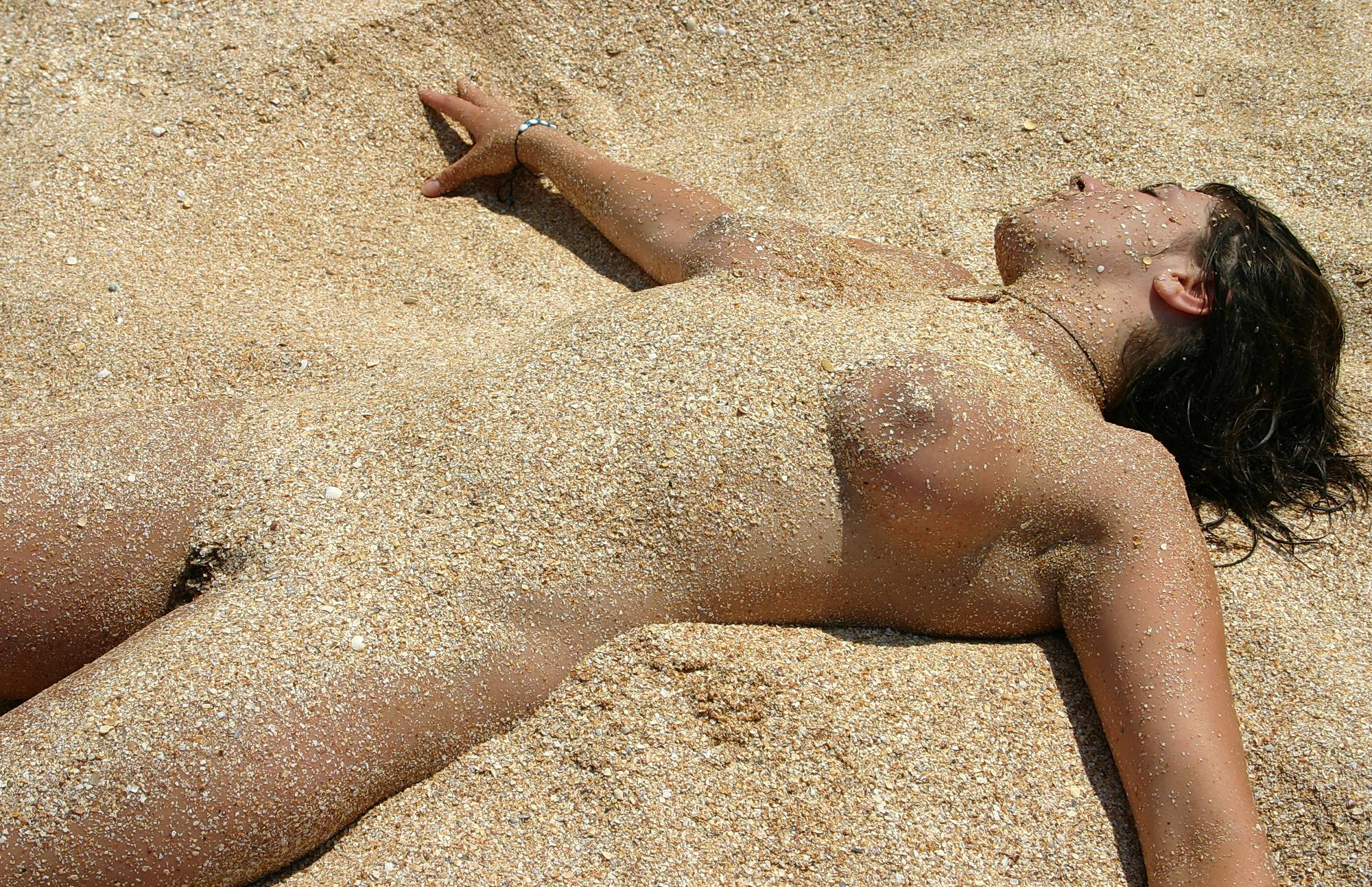 Pure Nudism-Relaxing On The Beach - 2