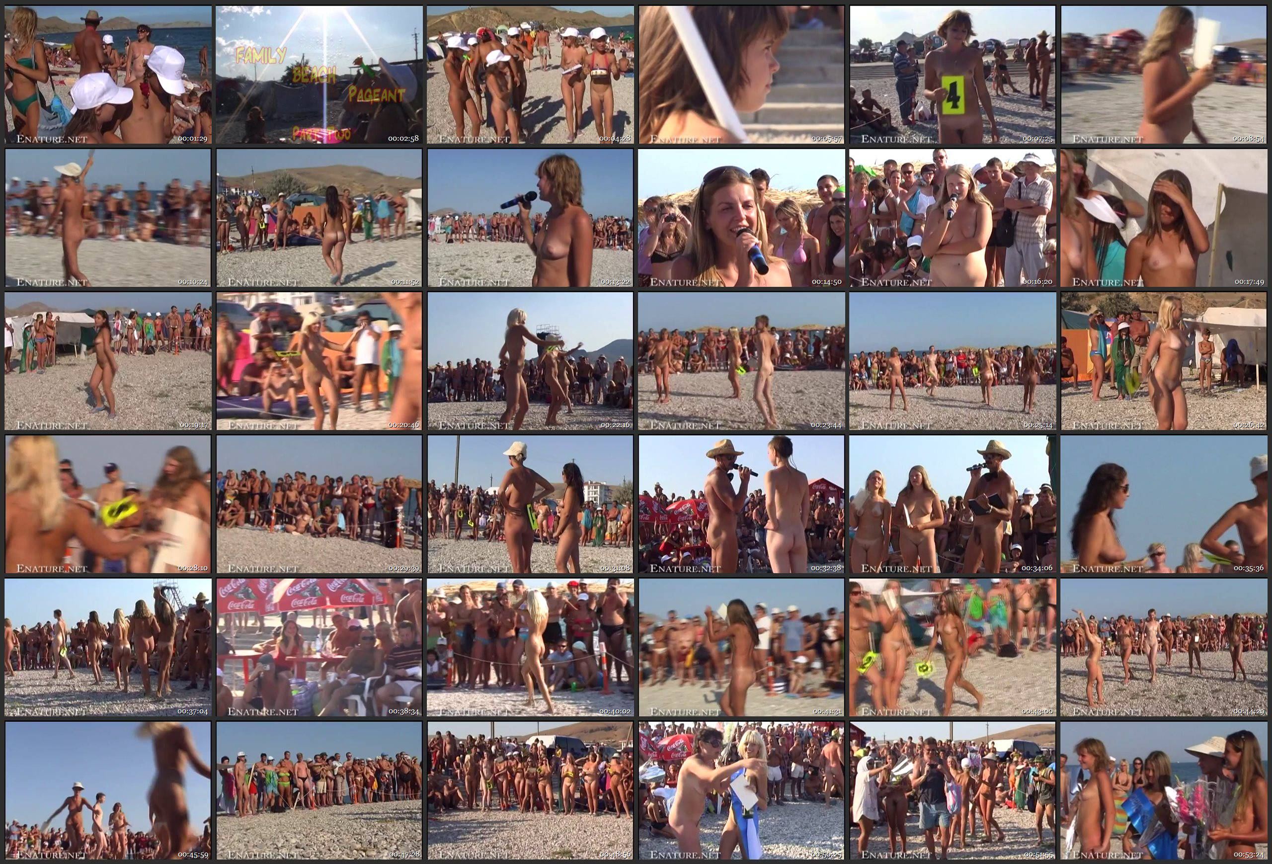 RussianBare-Family Beach Pageant Part Two - Thumbnails