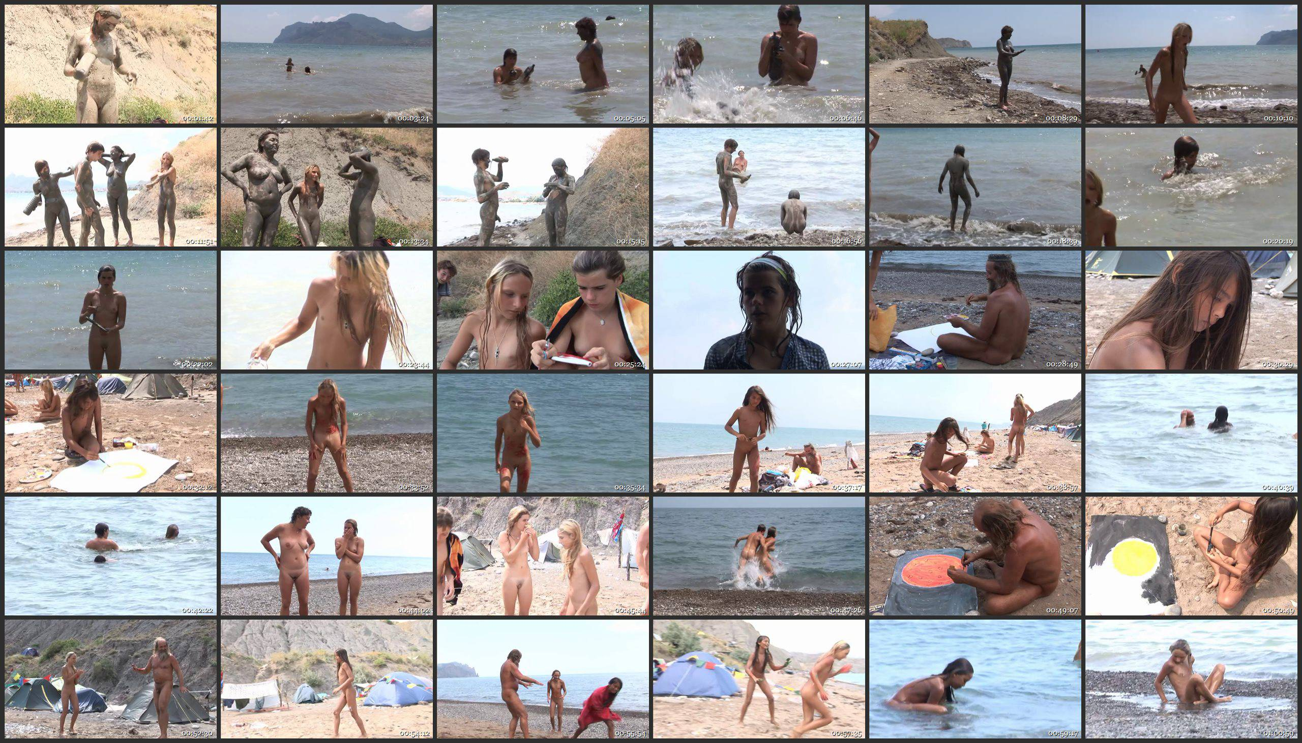 RussianBare Videos-Mars and Muddy Merry-Making - Thumbnails