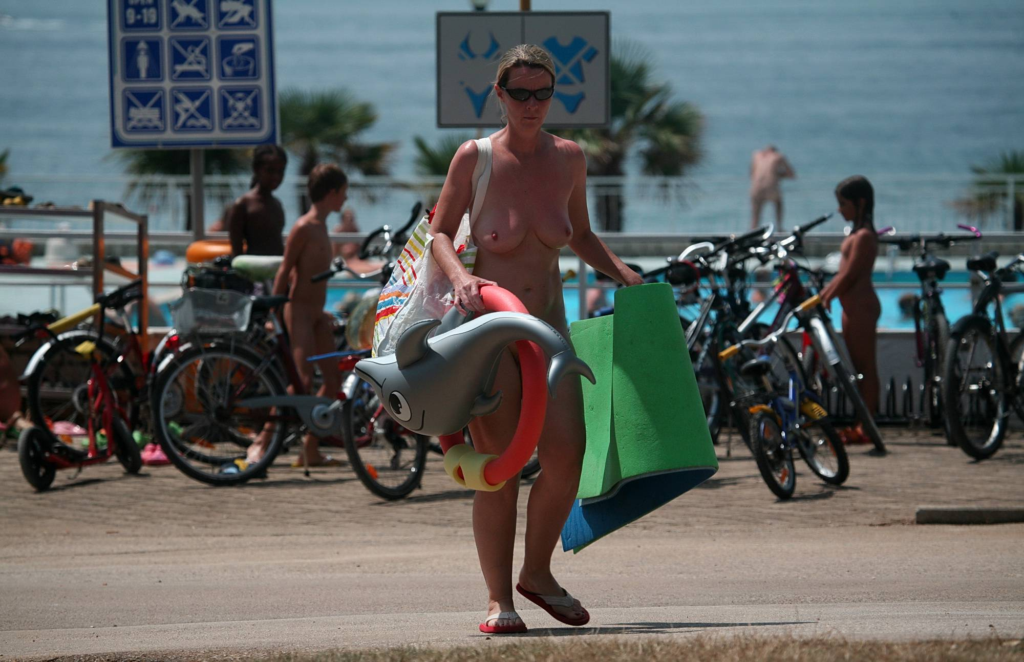 Purenudism Pics-Scooters and Bike Walks - 4
