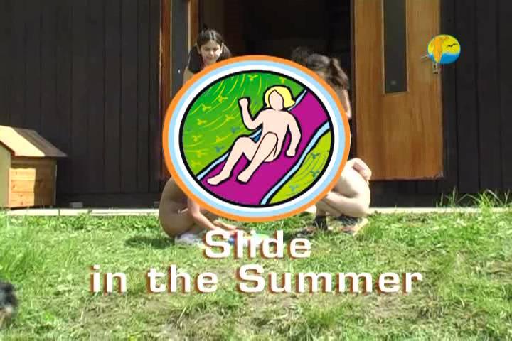 Slide in the Summer - Poster