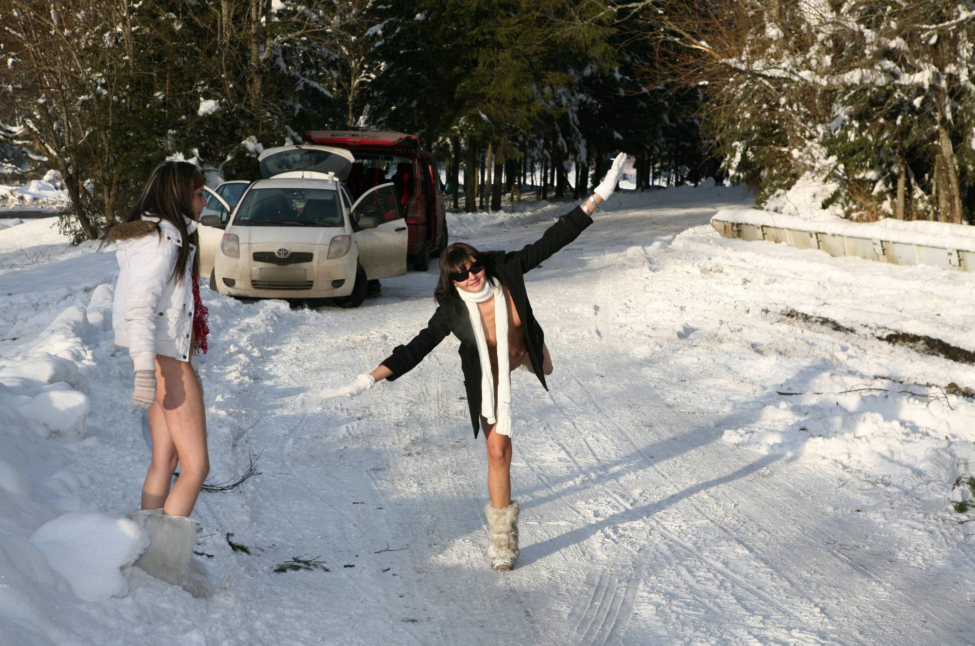 Purenudism Pics-Snow Day Winter Session - 2