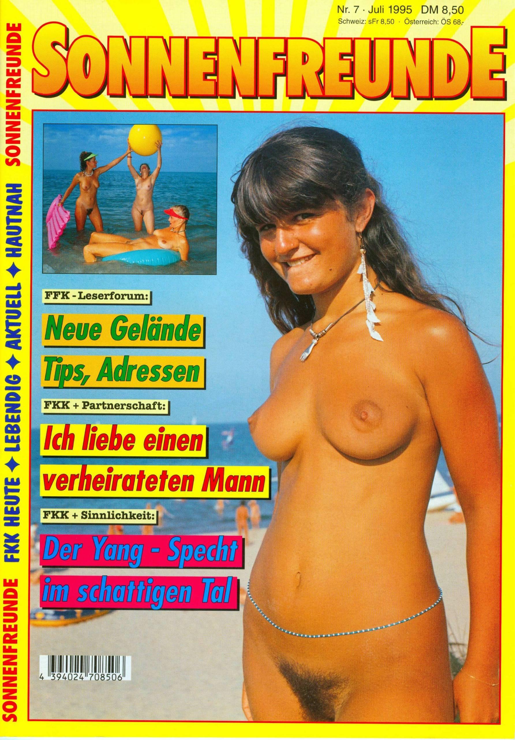 Nudist Magazines-Sonnenfreunde 1995 Nr.7 - 1
