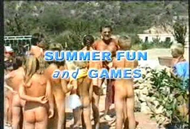 Nudist Movies-Summer Fun and Games - Poster
