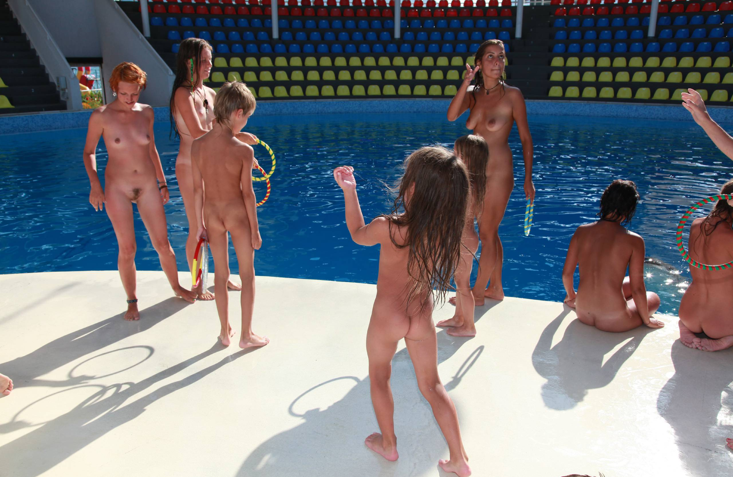 Pure Nudism Pics-Swimming and Dolphins - 2